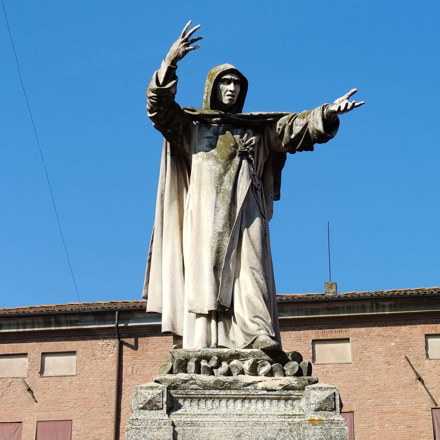 23 maggio 1875. Viene inaugurata la statua di Girolamo Savonarola