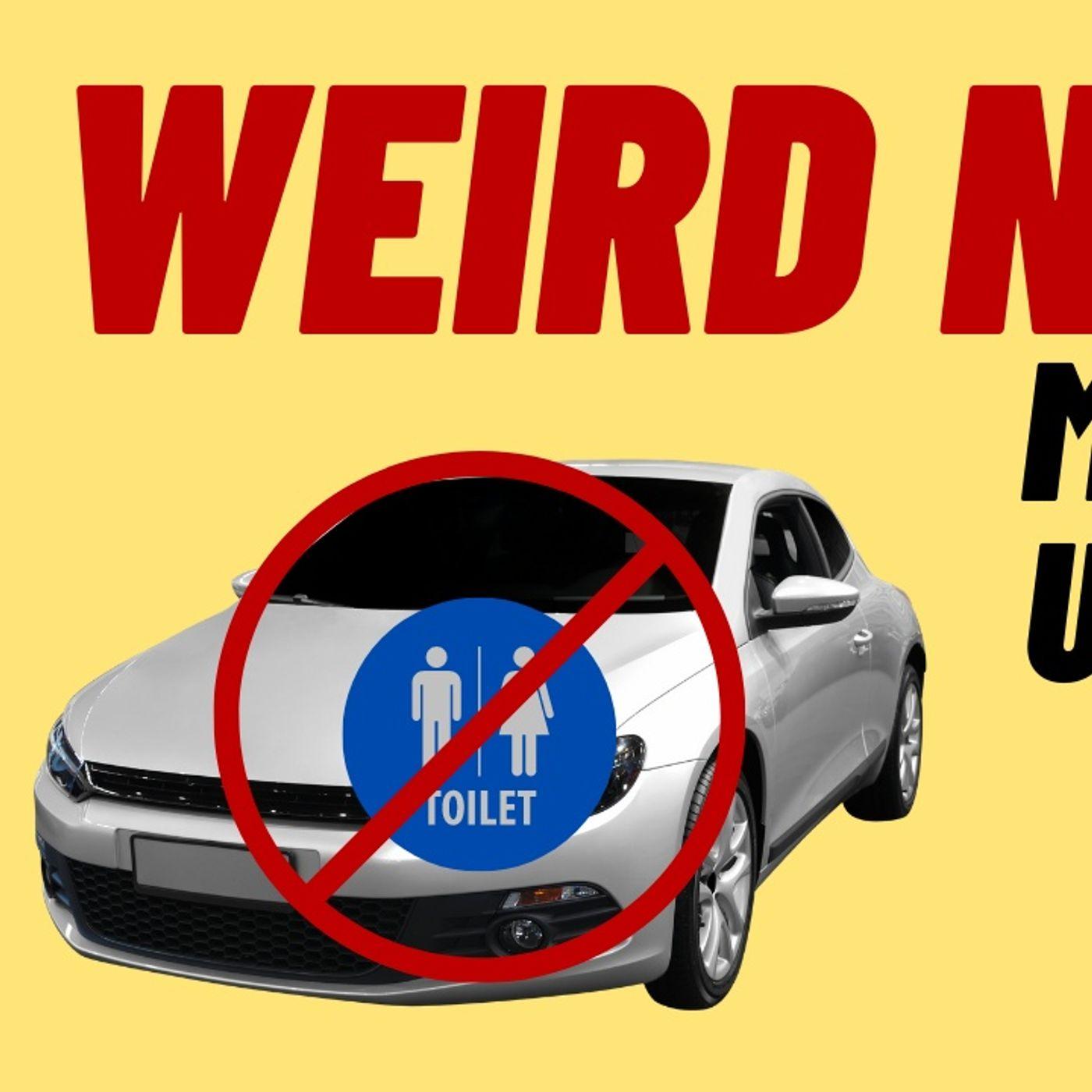 WEIRD NEWS - MAN USES UNLOCKED CARS AS TOILET