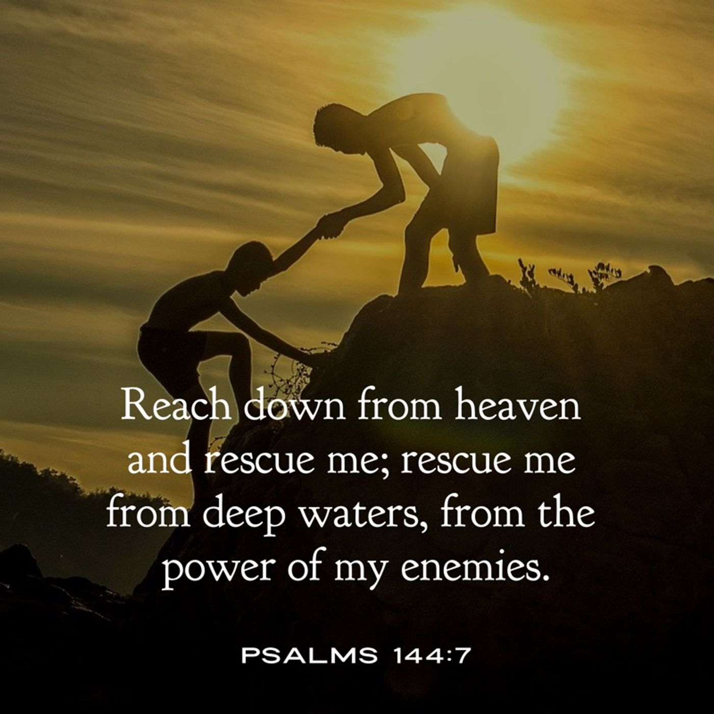 The LORD is Who Rescues and Preserves You from the Enemy