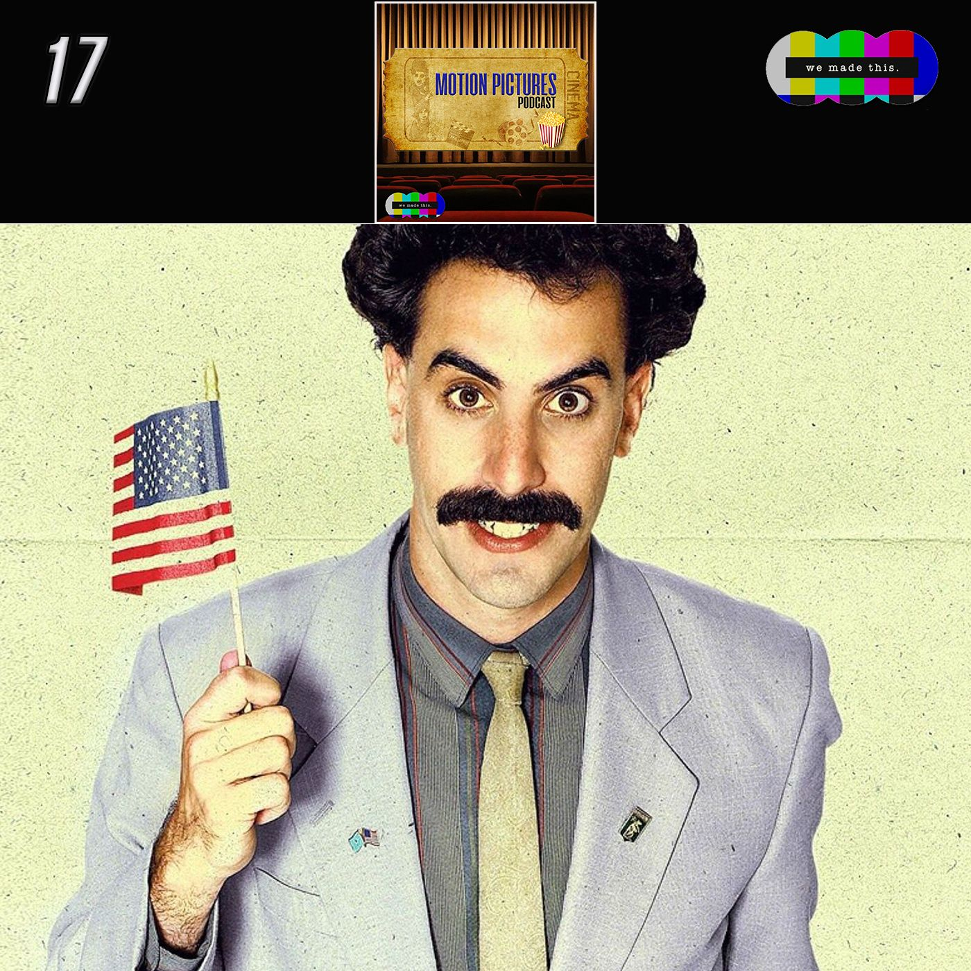 17. The Reality of Comedy (Borat)