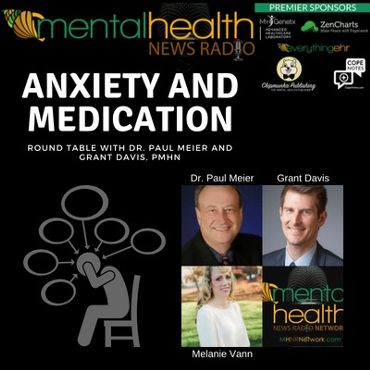 Mental Health News Radio - Round Table with Dr. Paul Meier: Anxiety and Medication