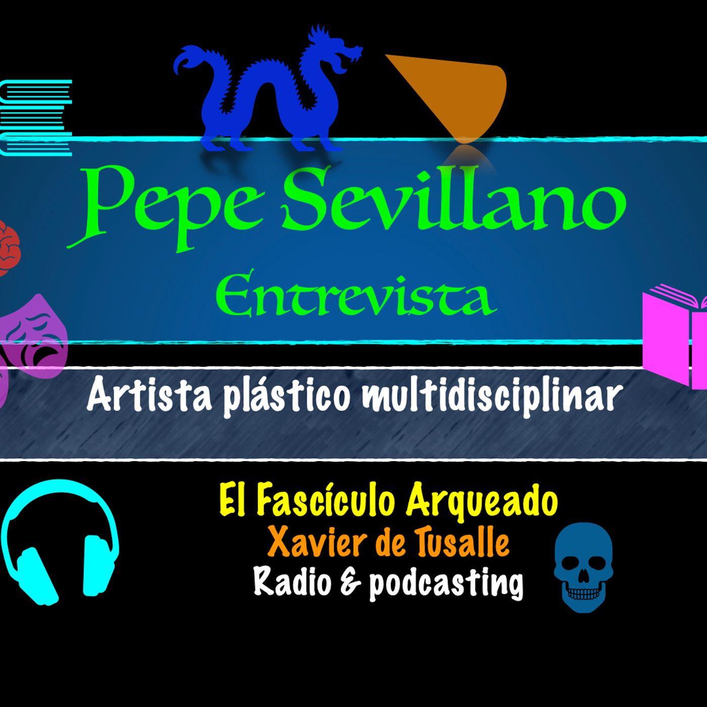 Entrevisto a Pepe Sevillano, artista plástico multidisciplinar