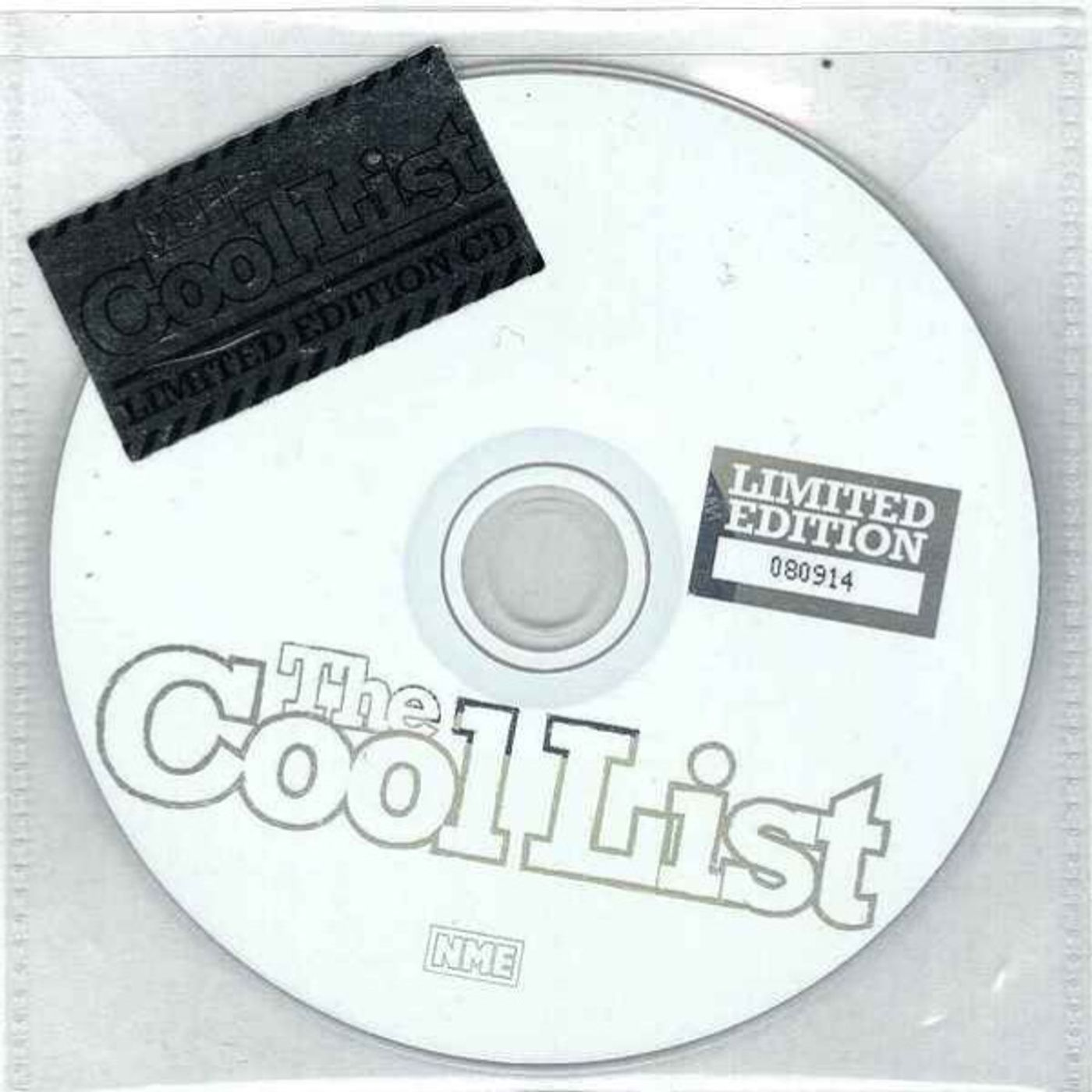 Free With  This Months Issue 9 - Jenny Hipkiss Selects NME - The Cool List 2004