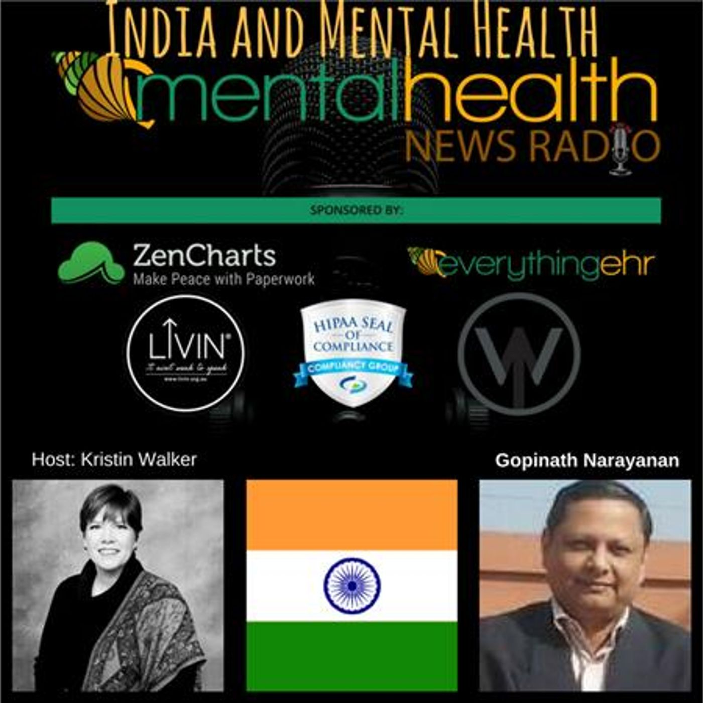 Mental Health News Radio - India and Mental Health: An Interview with Gopinath Narayanan