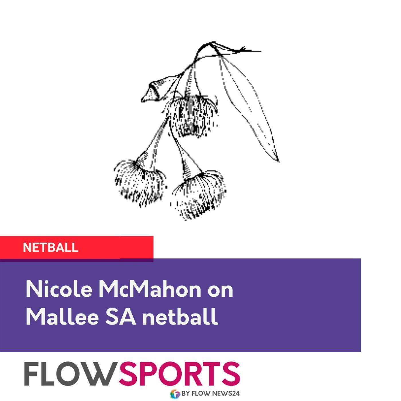 Nicole McMahon on Mallee Netball