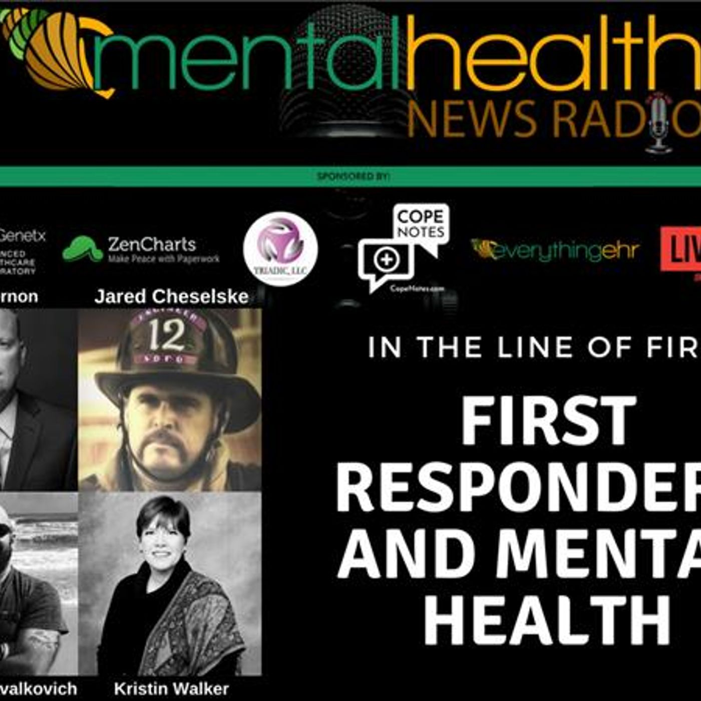 Mental Health News Radio - In the Line of Fire: First Responders and Mental Health
