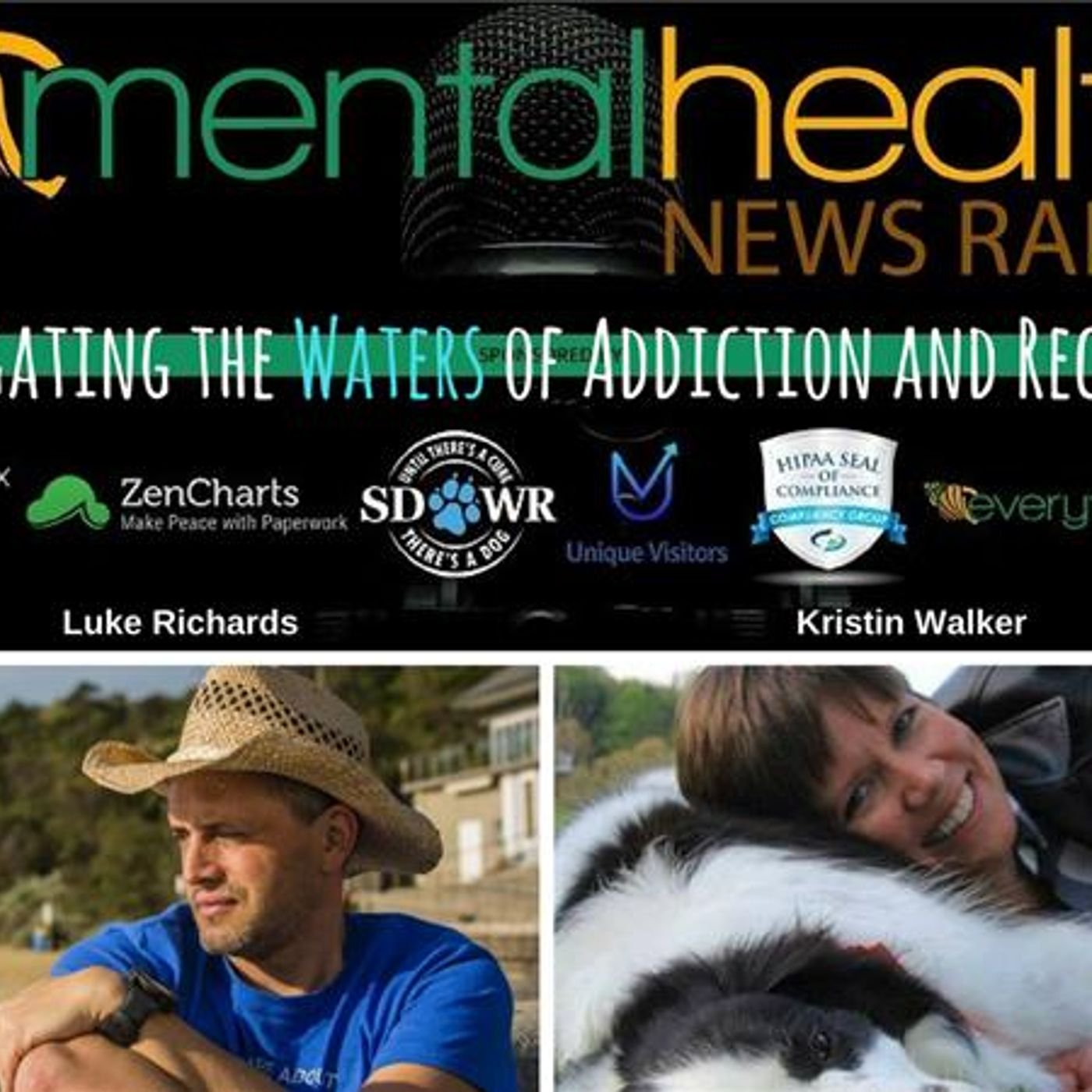 Mental Health News Radio - Navigating the Waters of Addiction and Recovery: An Interview with Luke Richards