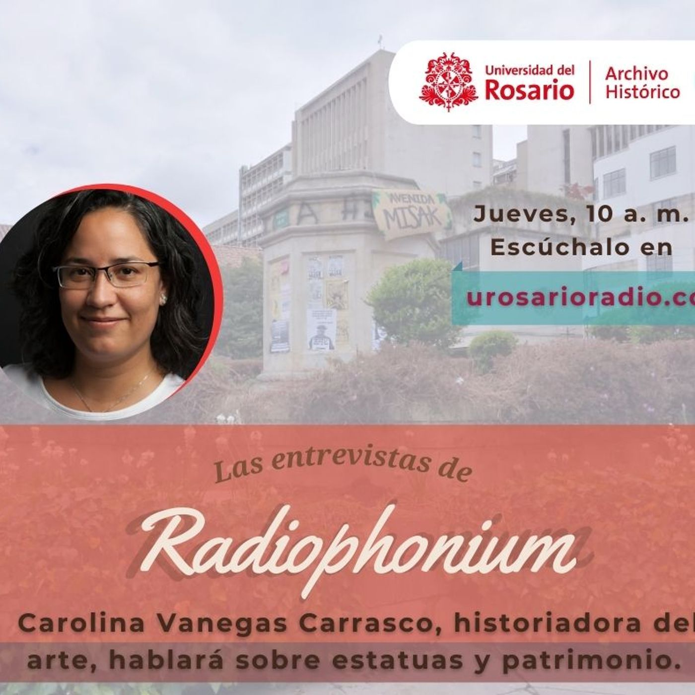 Estatuas y patrimonio con la historiadora Carolina Vanegas