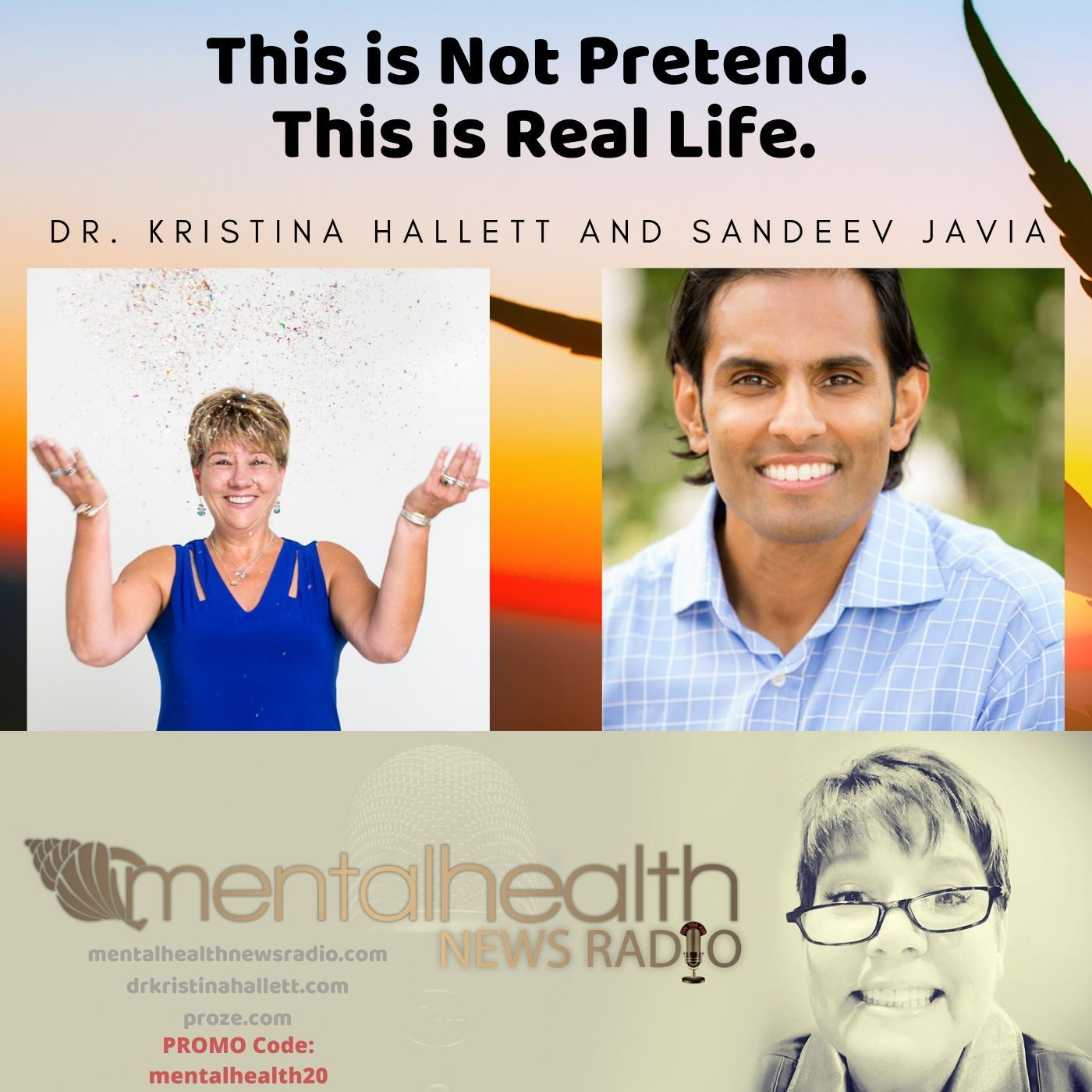 Mental Health News Radio - This Is Not Pretend. This is Real Life.