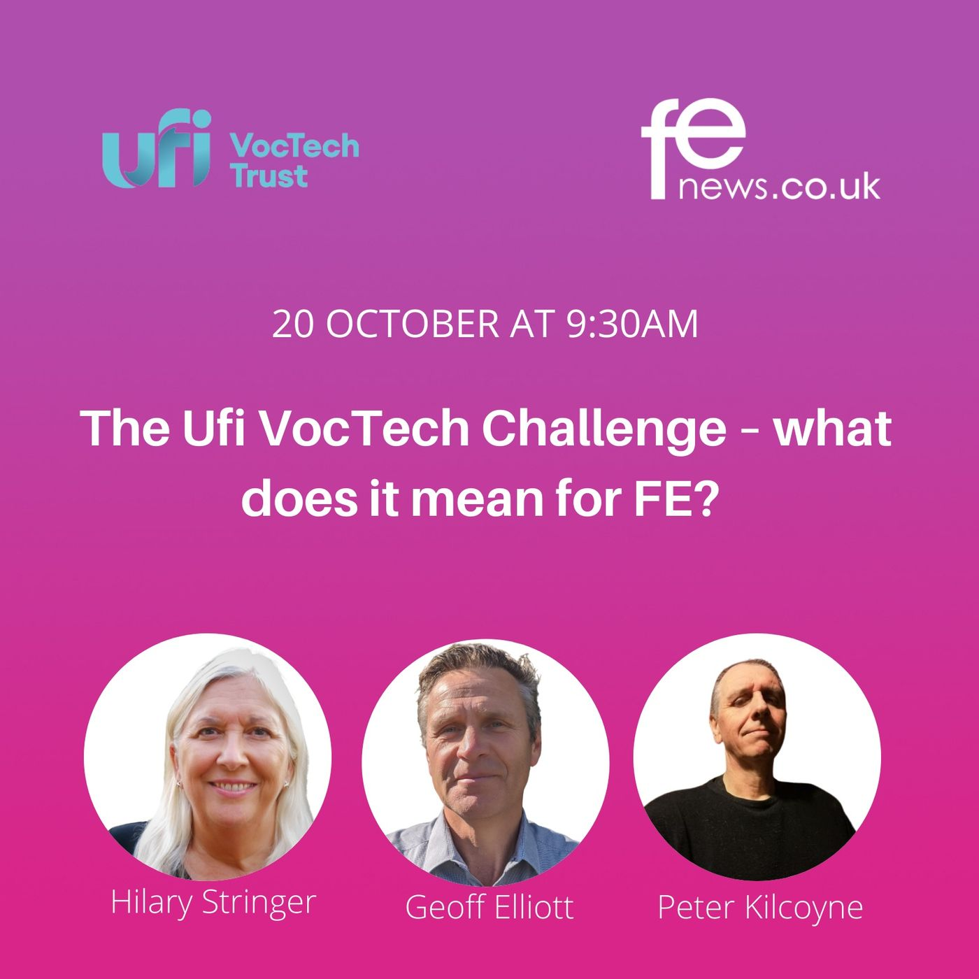 The Ufi VocTech Challenge – what does it mean for FE?   #VocTechFutures Episode 3