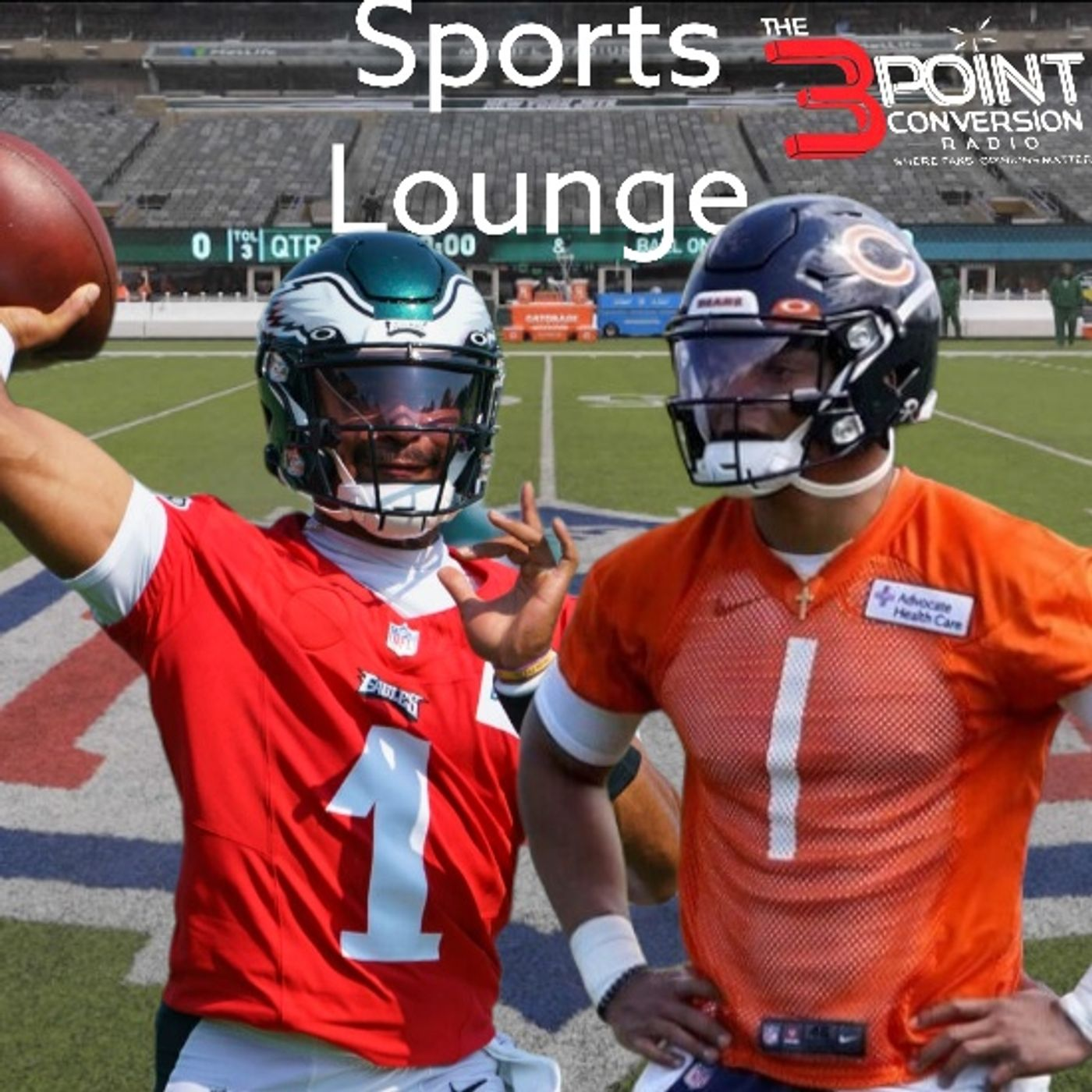 The 3 Point Conversion Sports Lounge - NBA Free Agency, Olympics Review, NFL Is Back, Giants or Dodgers,