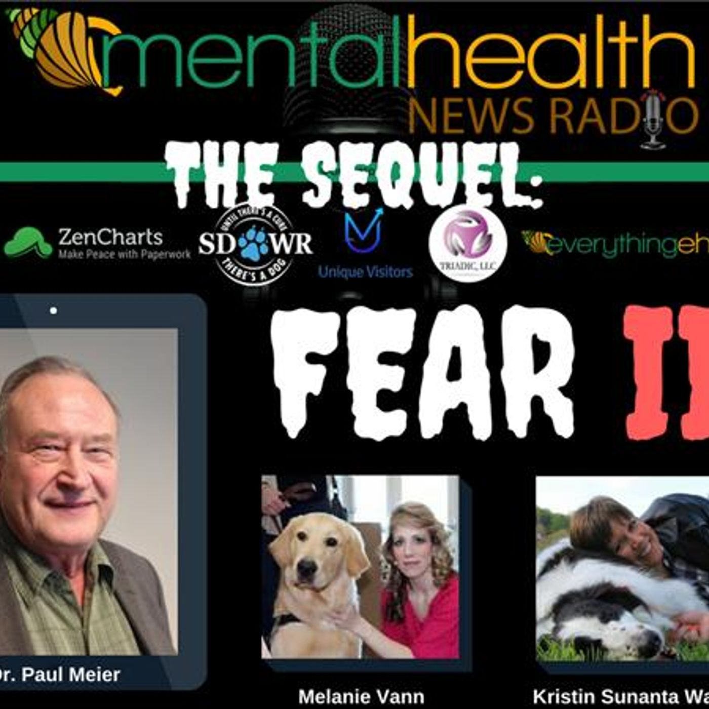 Mental Health News Radio - Round Table Discussions with Dr. Paul Meier: The Sequel - FEAR II