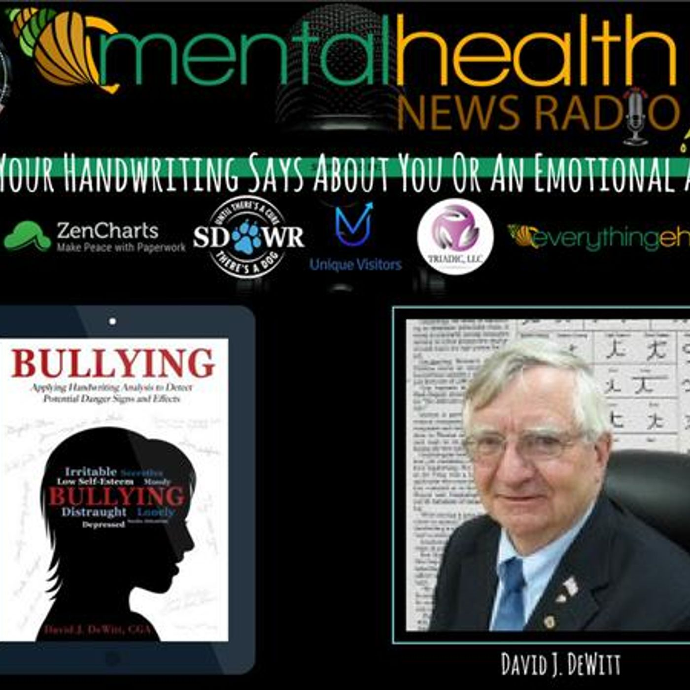 Mental Health News Radio - What Your Handwriting Says About You Or An Emotional Abuser