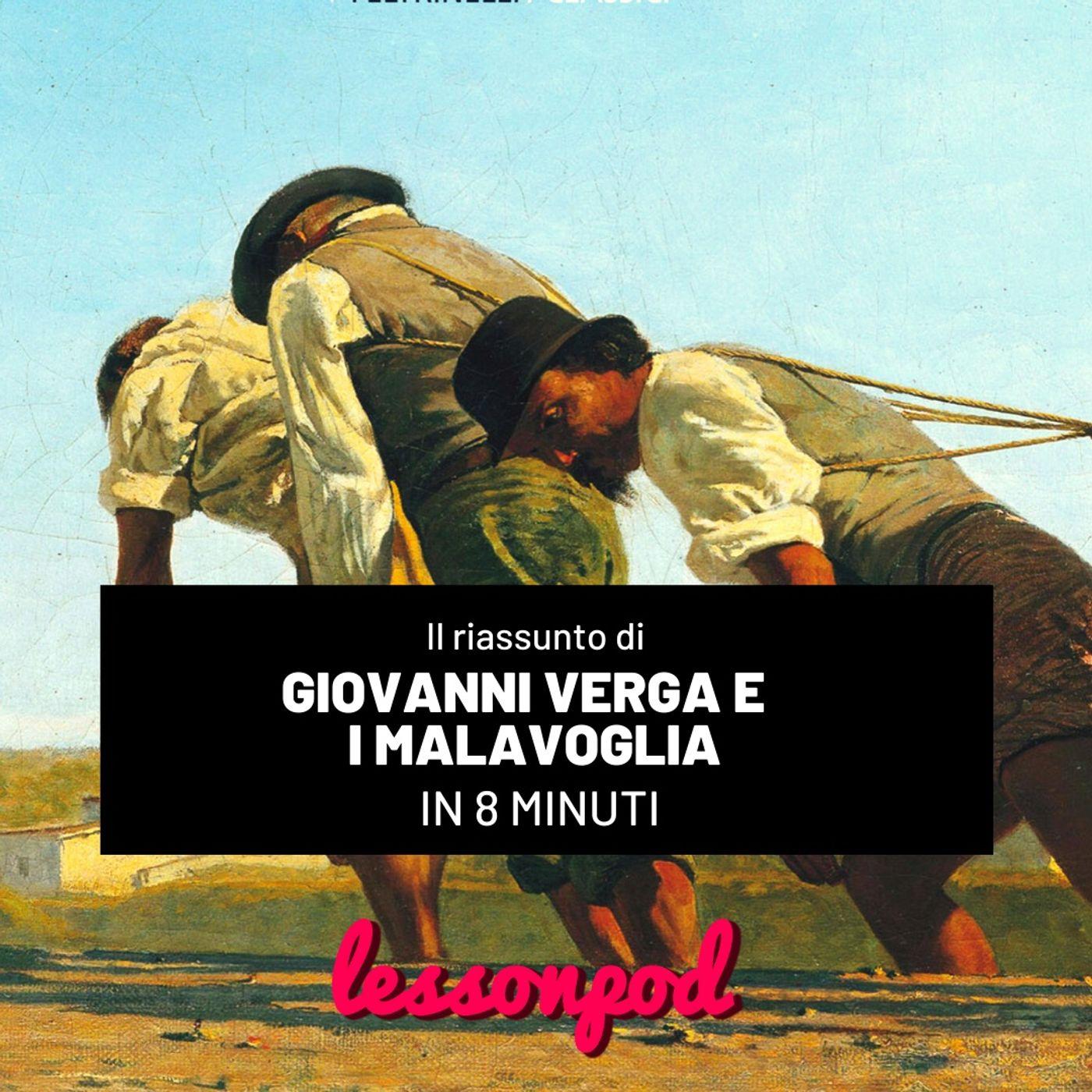 Giovanni Verga e il riassunto de I Malavoglia