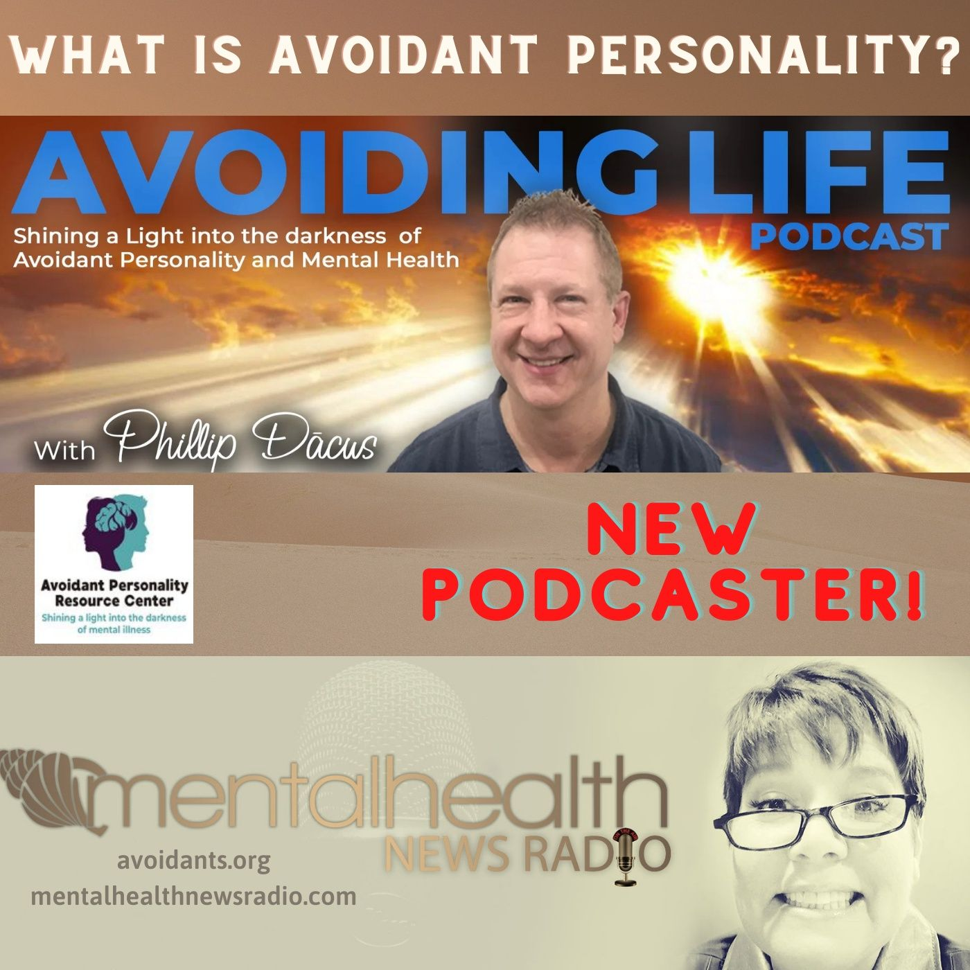 Mental Health News Radio - Avoiding Life: What is Avoidant Personality with Phillip Dacus