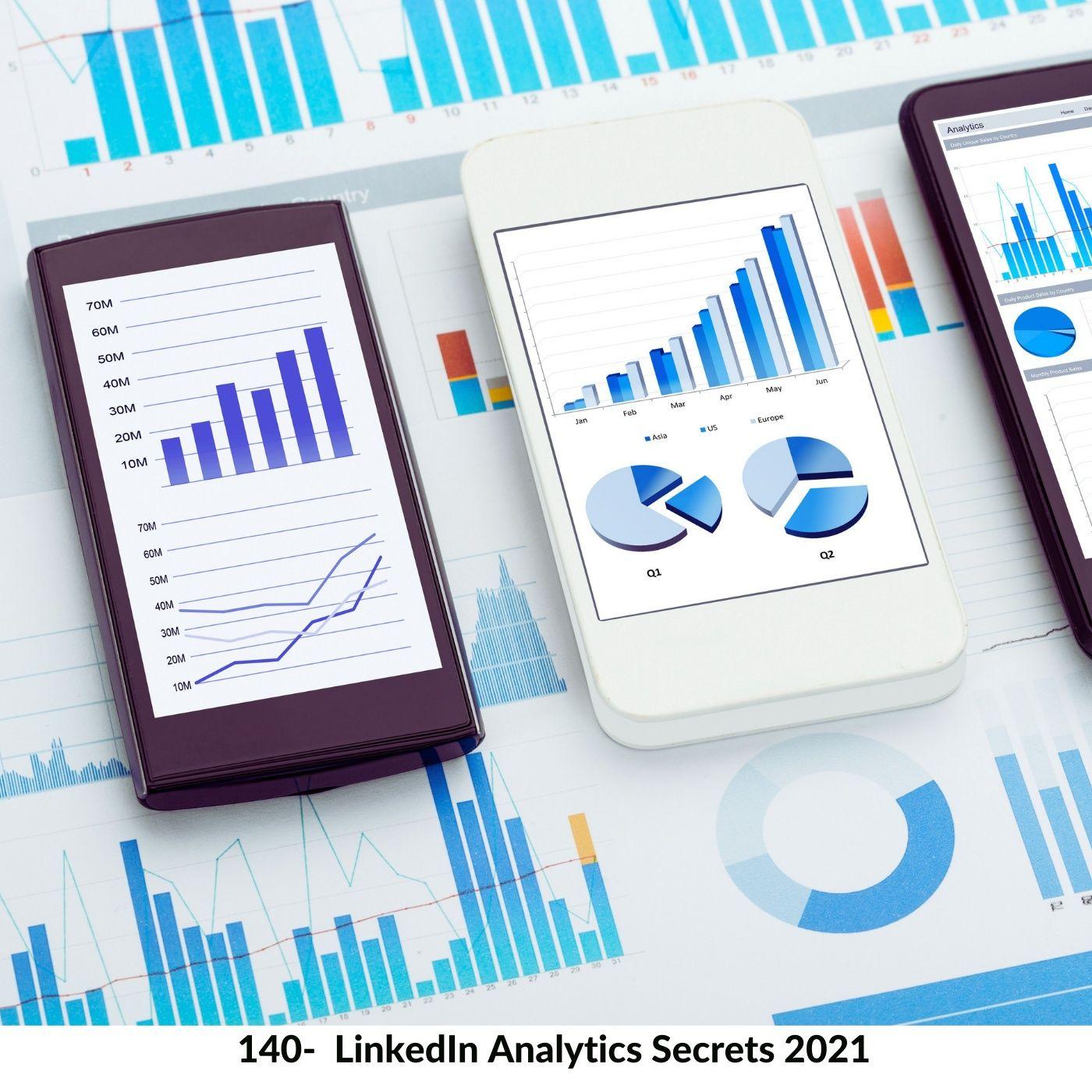 [Podcacst #140] LinkedIn Analytics Secrets 2021