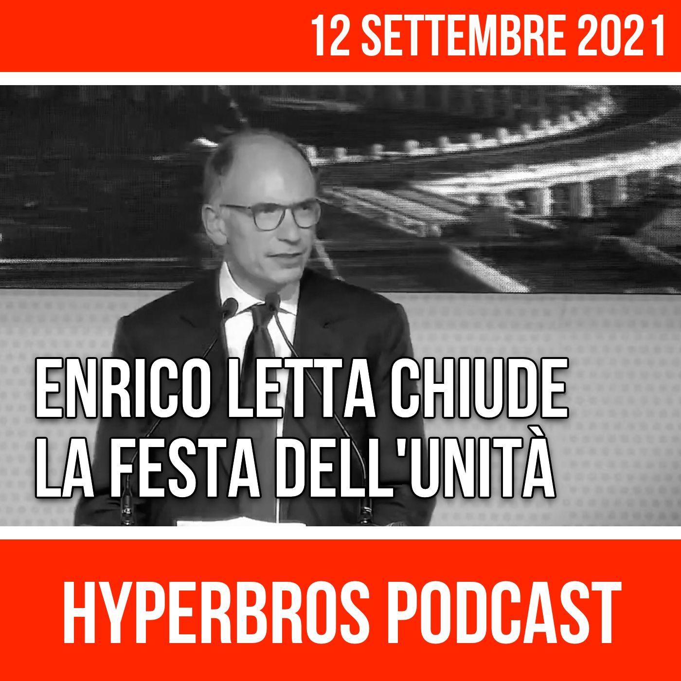 Festa dell'Unità, intervento di chiusura di Enrico Letta