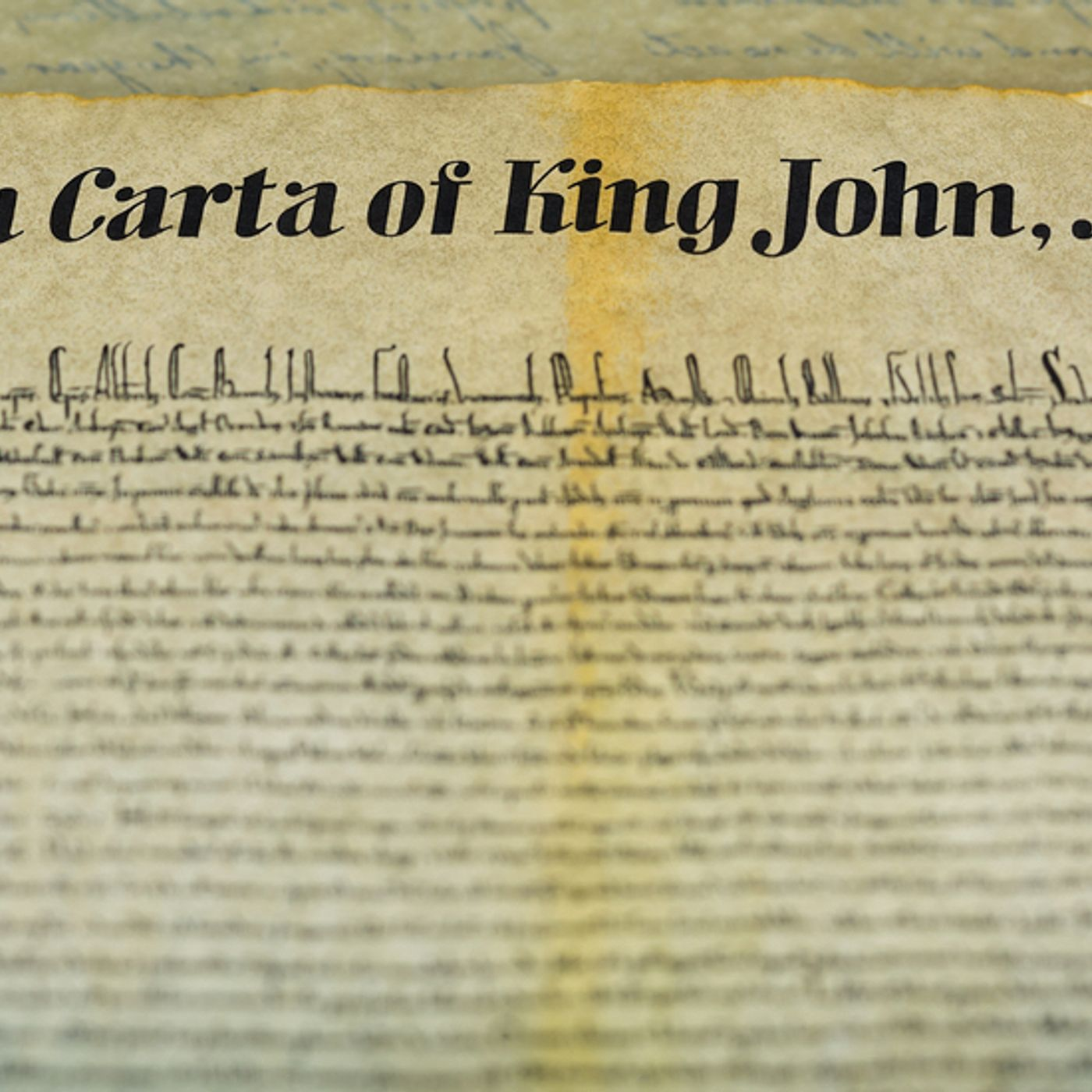 The Magna Carta audio recording on the BIG radio show