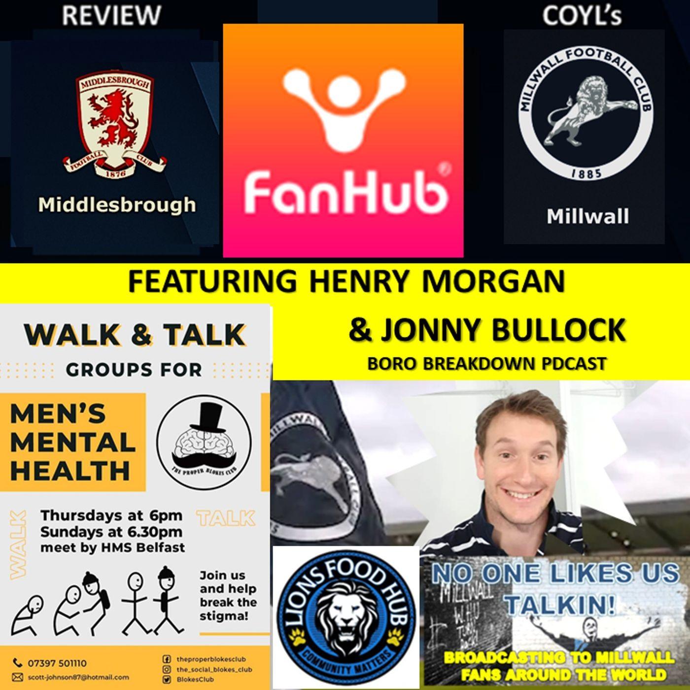 Henry Morgan Reviews Middlesbrough with Jonny Bullock Boro Breakdown Podcast  230321