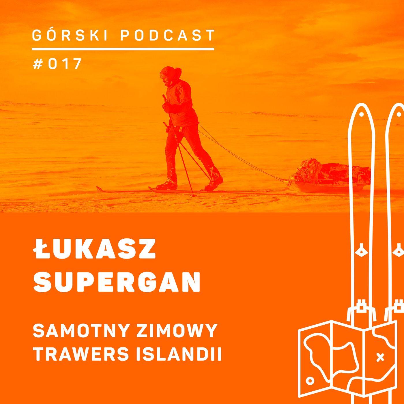 #017 8a.pl - Łukas Supergan. Samotny zimwowy trawers Islandii.