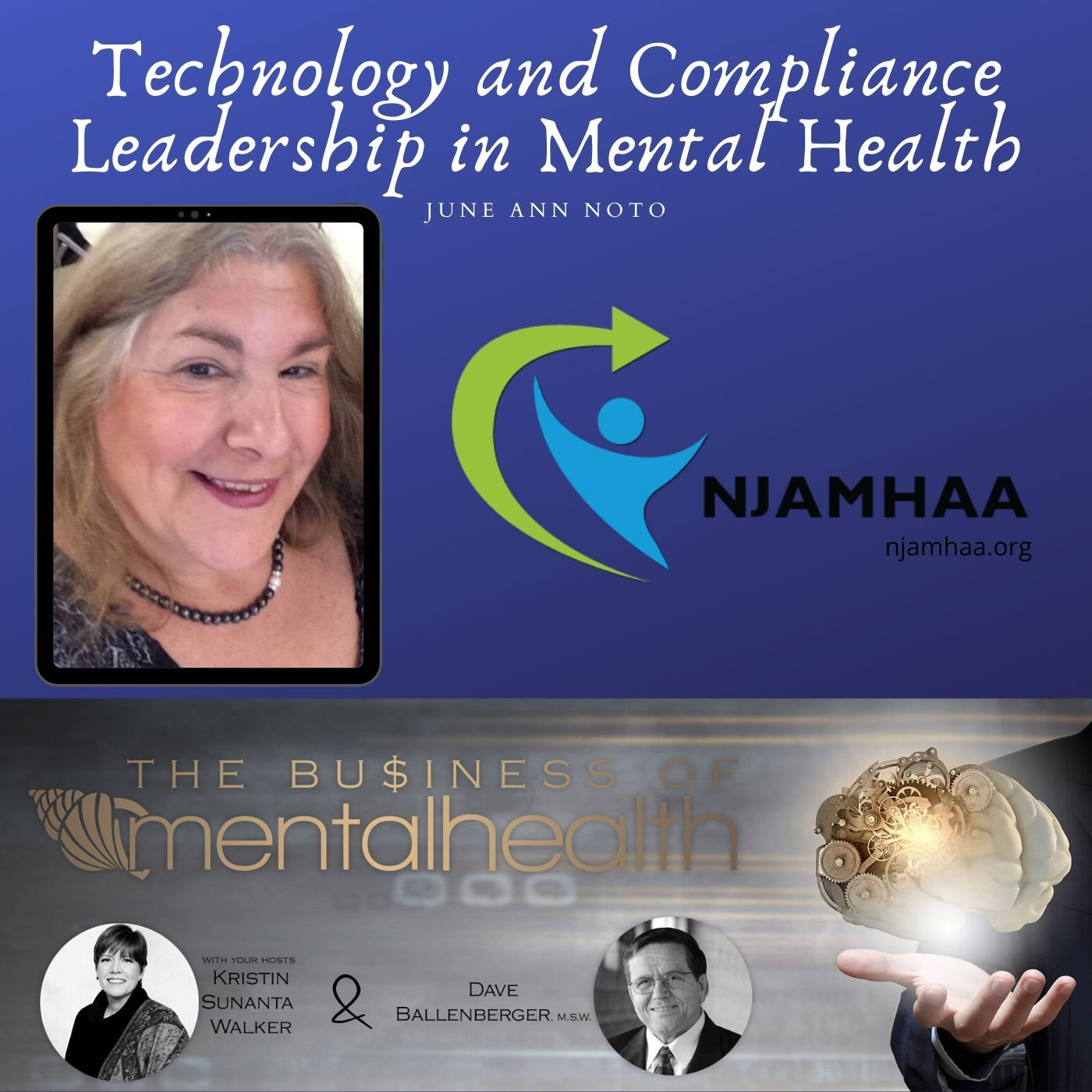 Mental Health News Radio - Technology and Compliance Leadership in Mental Health: June Noto
