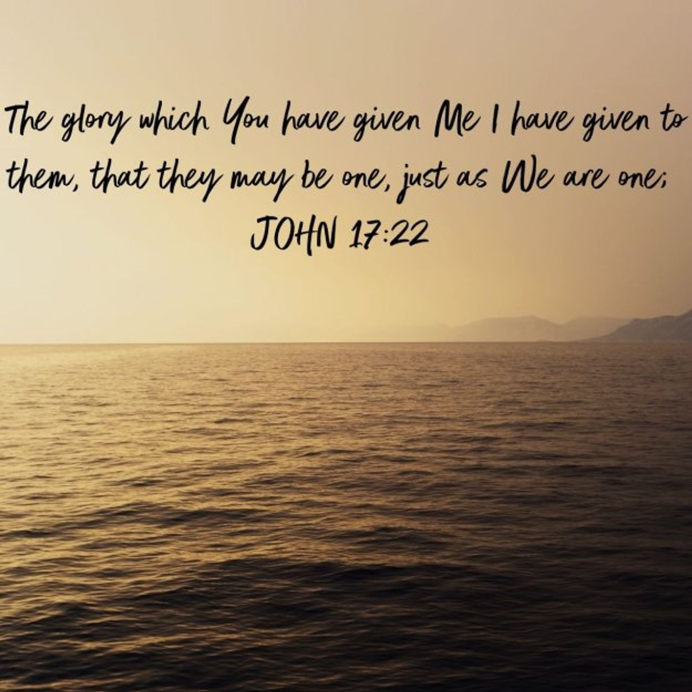 John 17:22 and 3 Questions