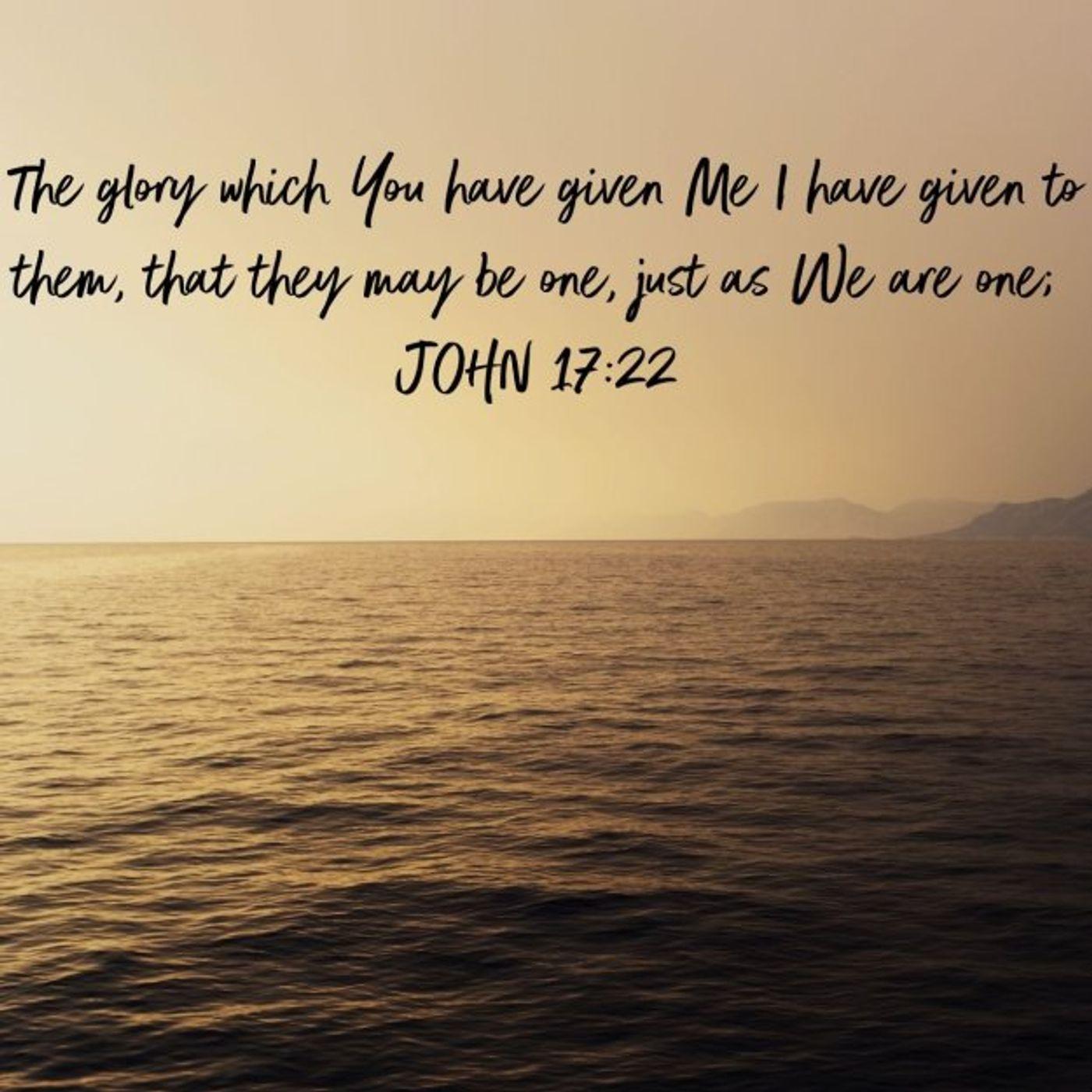John 17:22: What Glory is Jesus Referring To?