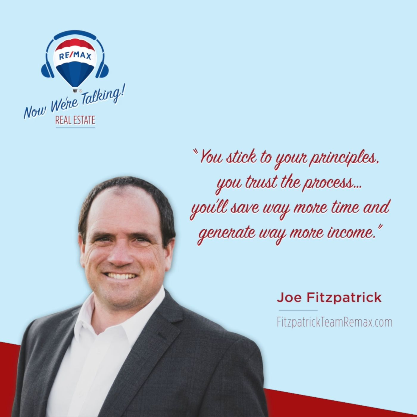 No Nonsense: Team Leader Joe Fitzpatrick Tells it to You Straight