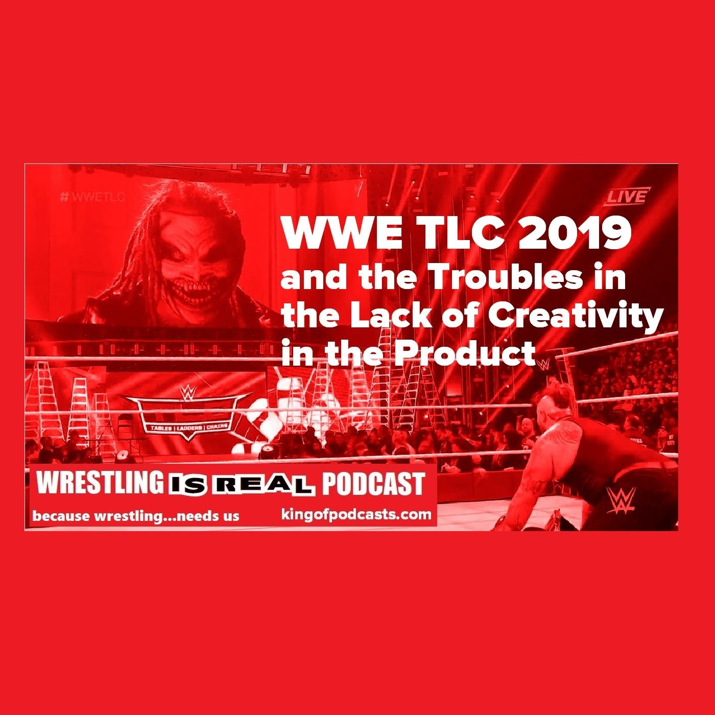 WWE TLC 2019 and  Troubles in the Lack of Creativity in the Product KOP121619-504