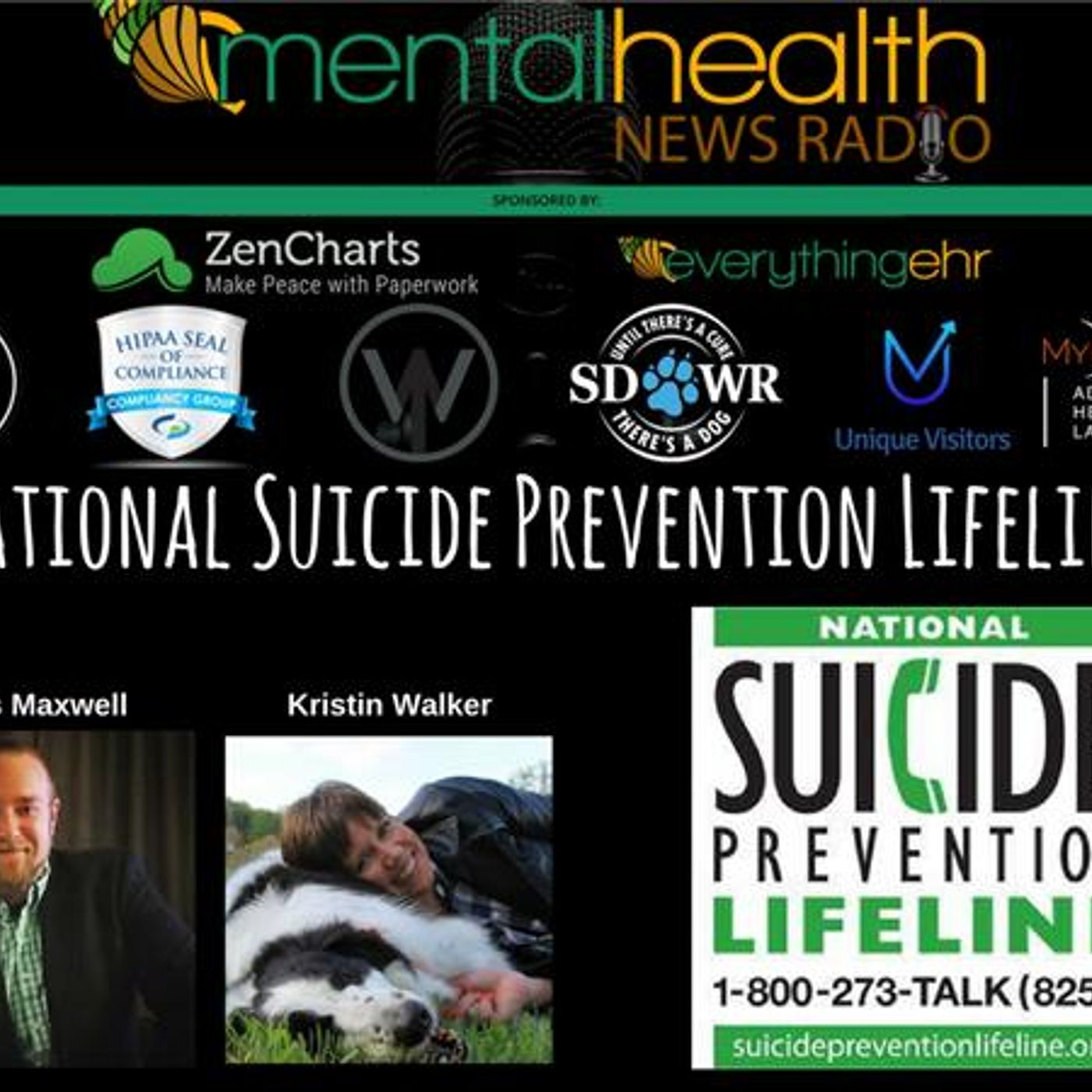 Mental Health News Radio - National Suicide Prevention Lifeline: An Interview with Chris Maxwell