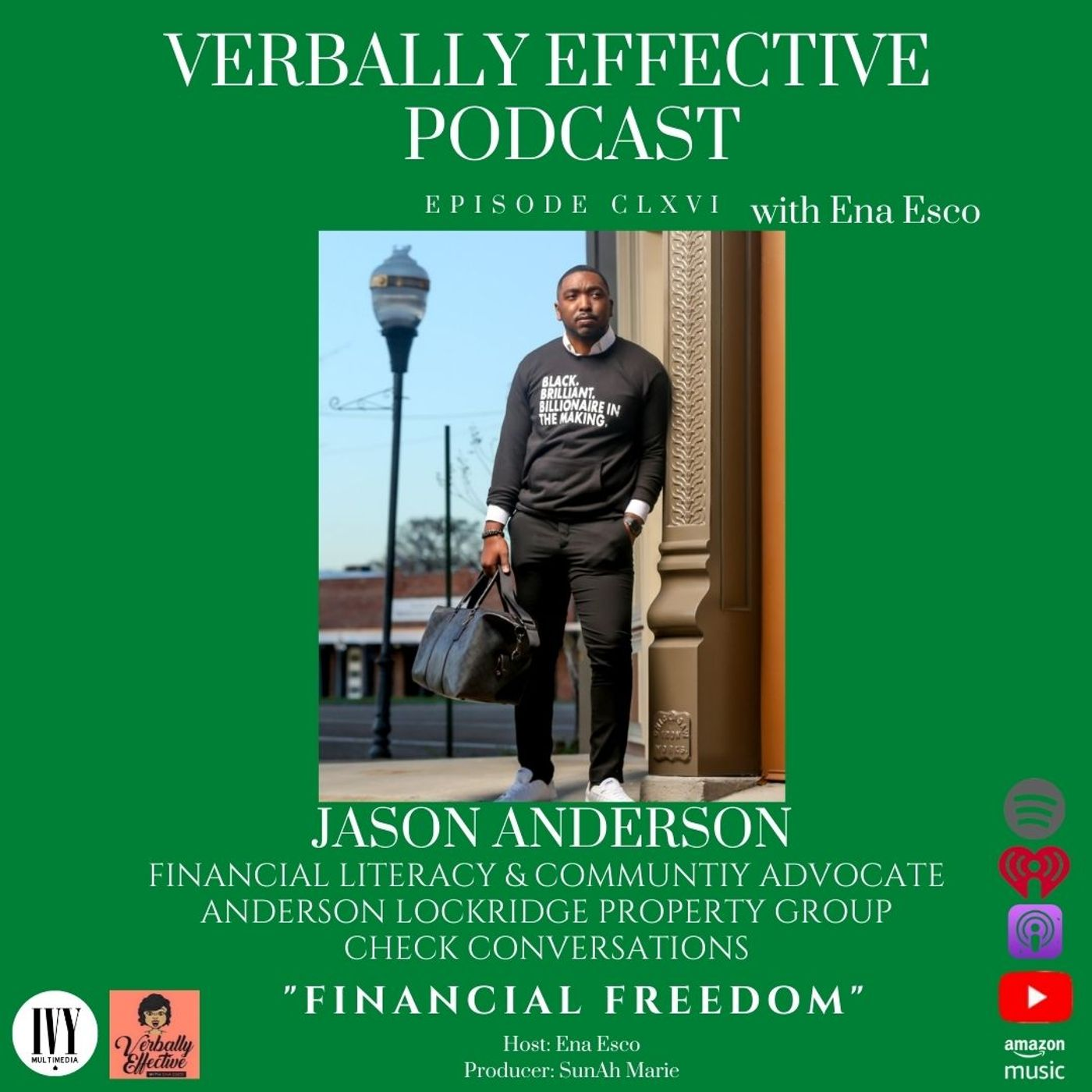 "EPISODE CLXVI   ""FINANCIAL FREEDOM"" w/ JASON ANDERSON"