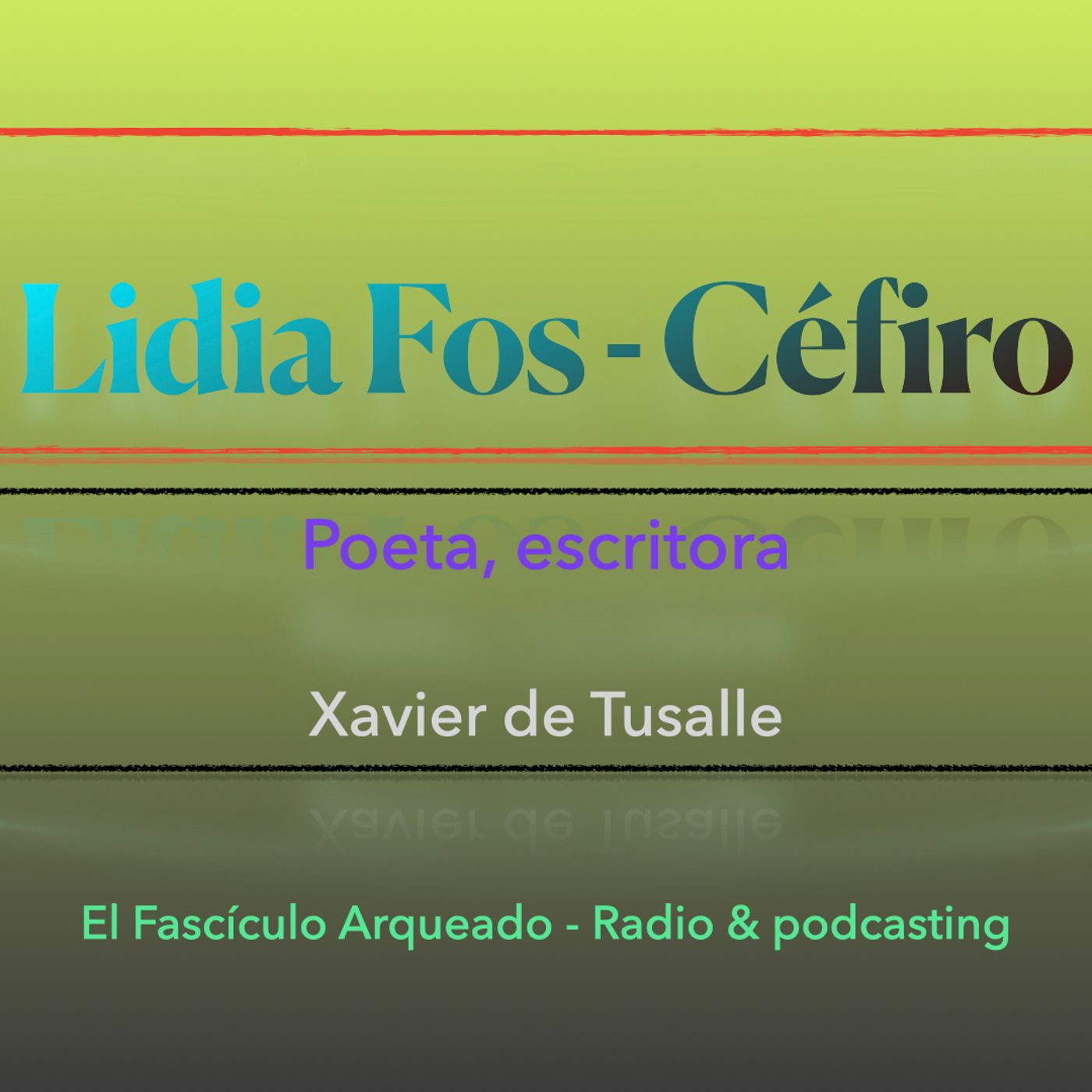 """Entrevista a Lidia Fos autora del poemario """"Céfiro"""""""
