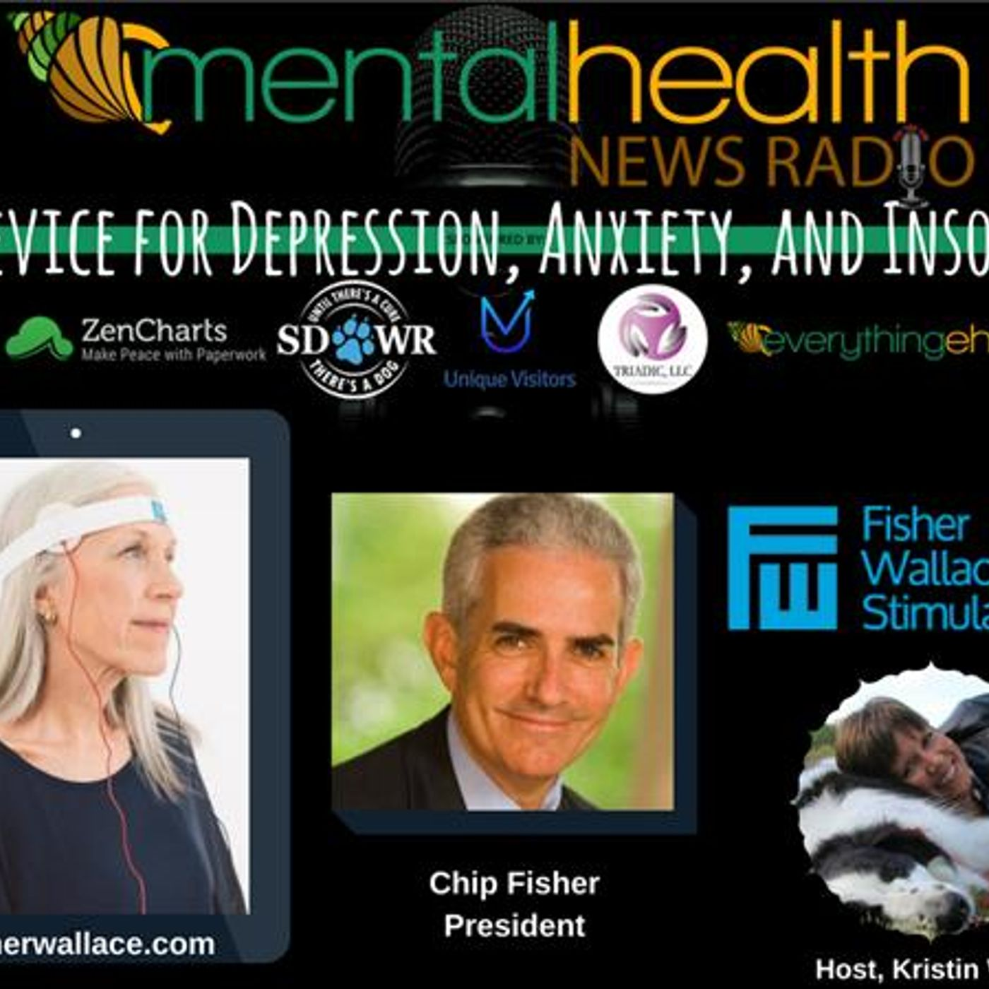 Mental Health News Radio - THE Device for Depression, Anxiety, and Insomnia with President Chip Fisher