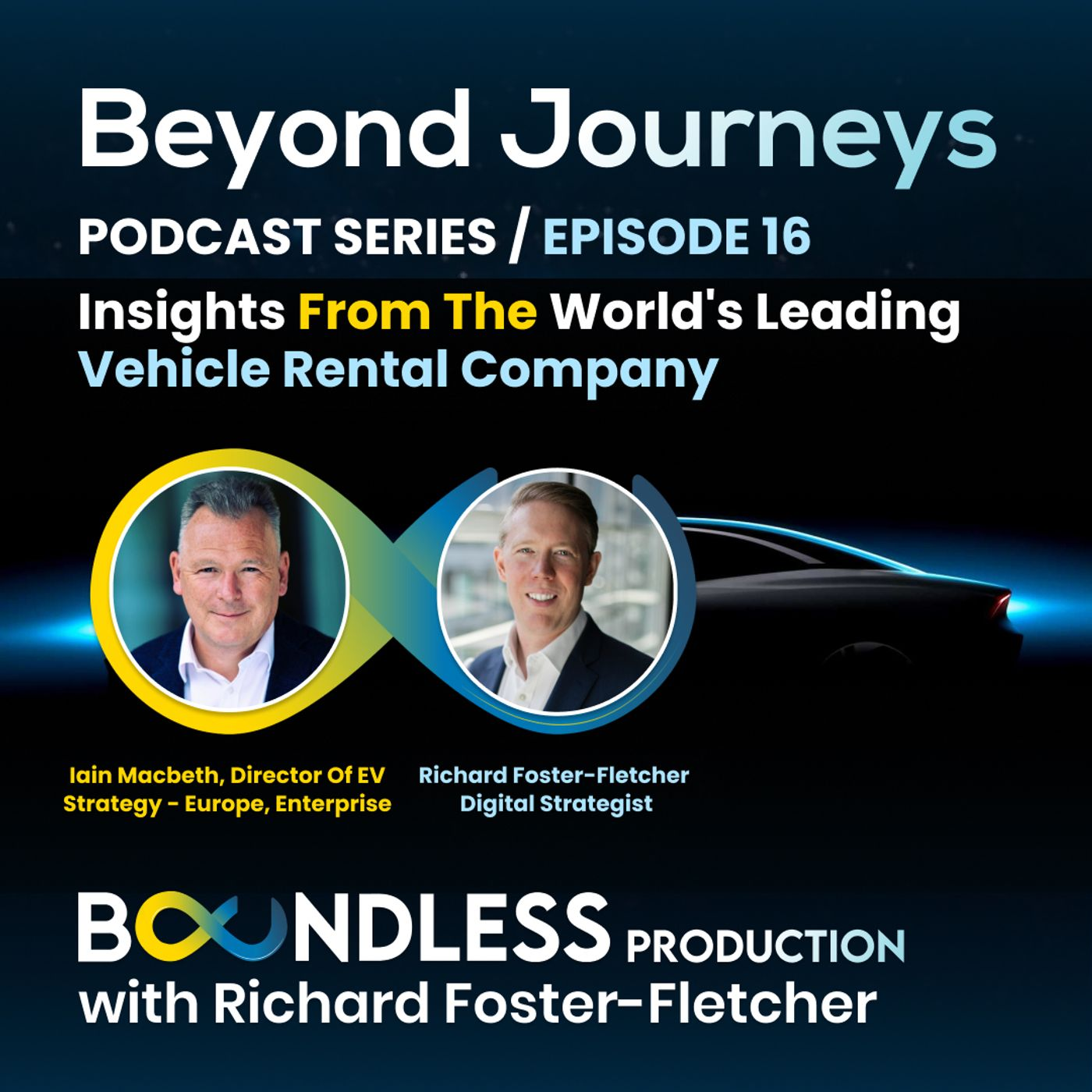 EP16 Beyond Journeys: Iain Macbeth, Director of EV Strategy - Europe, Enterprise: Insights from the world's leading vehicle rental company