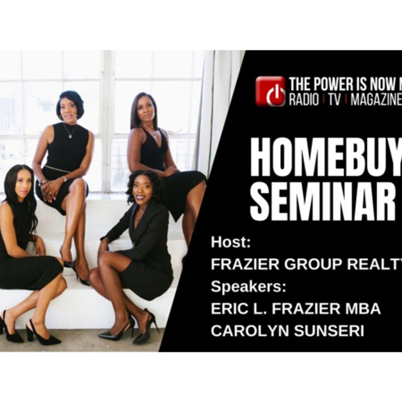 Frazier Group Realty Homebuyer Seminar