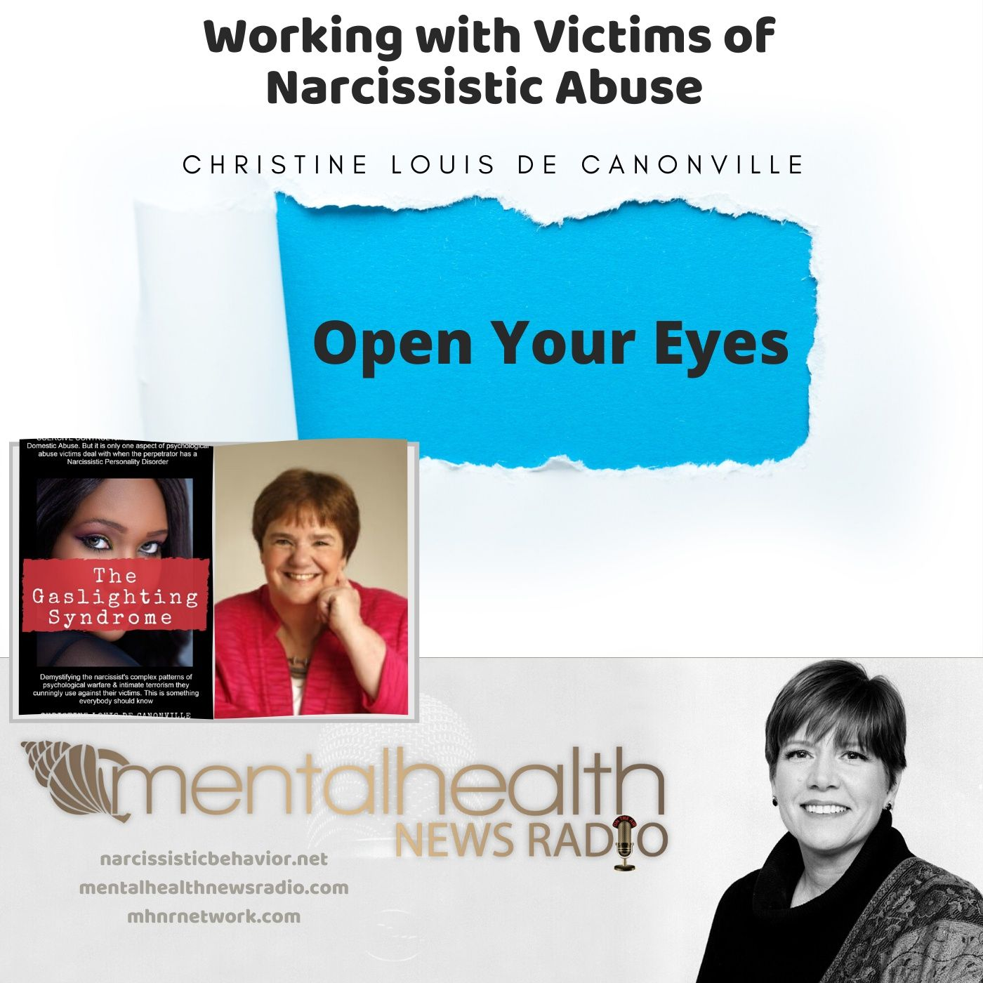 Mental Health News Radio - From the Archives: Working with Narcissistic Victim Abuse