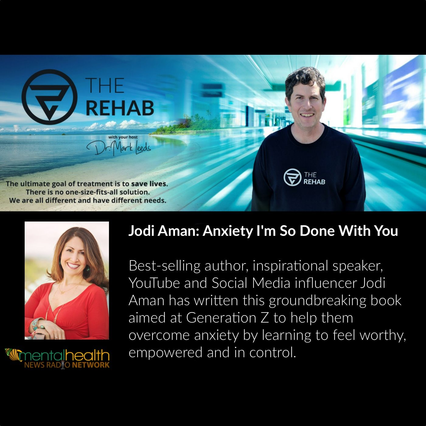 Jodi Aman: Anxiety I'm So Done With You