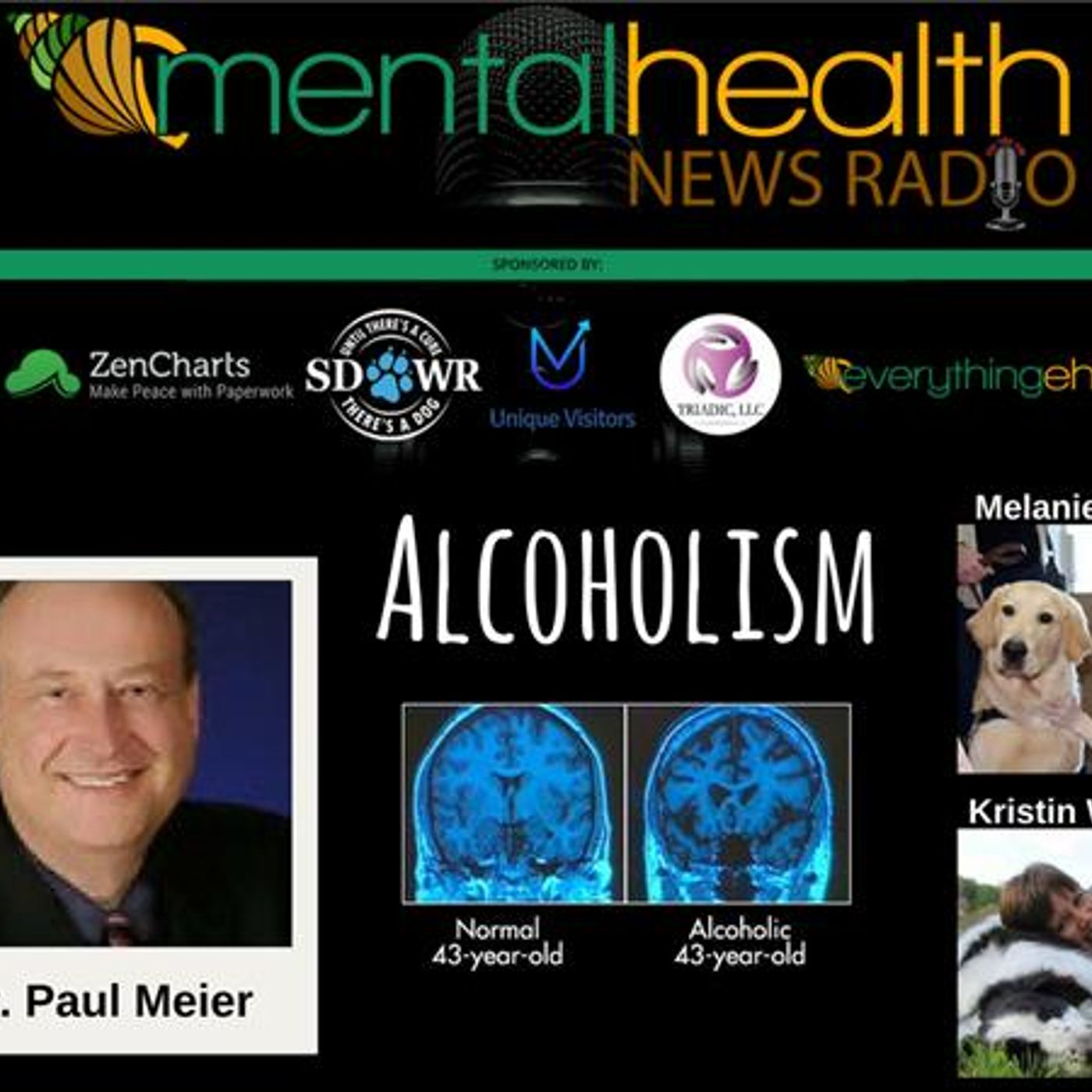 Mental Health News Radio - Round Table Discussions with Dr. Paul Meier: Alcoholism