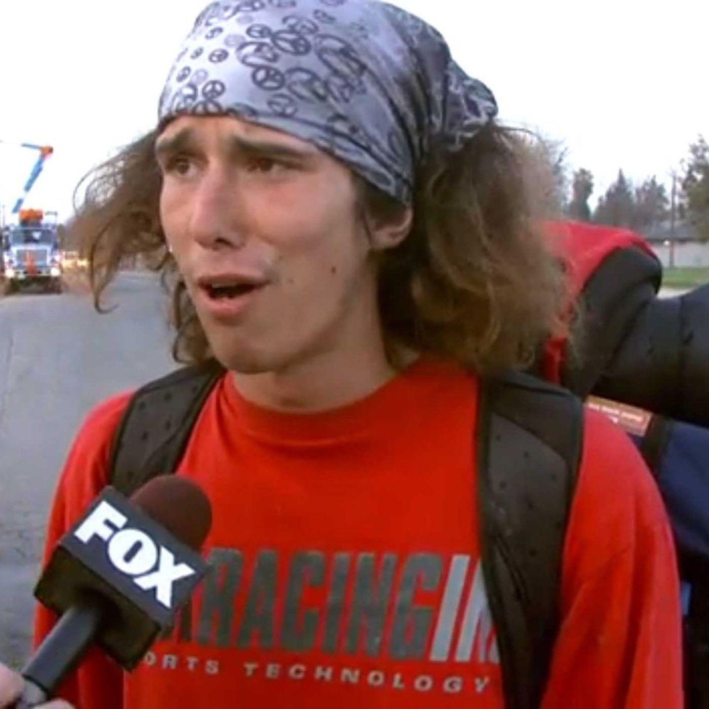 Caleb Lawrence McGillvary aka Kai the Hatchet-Wielding Hitchhiker