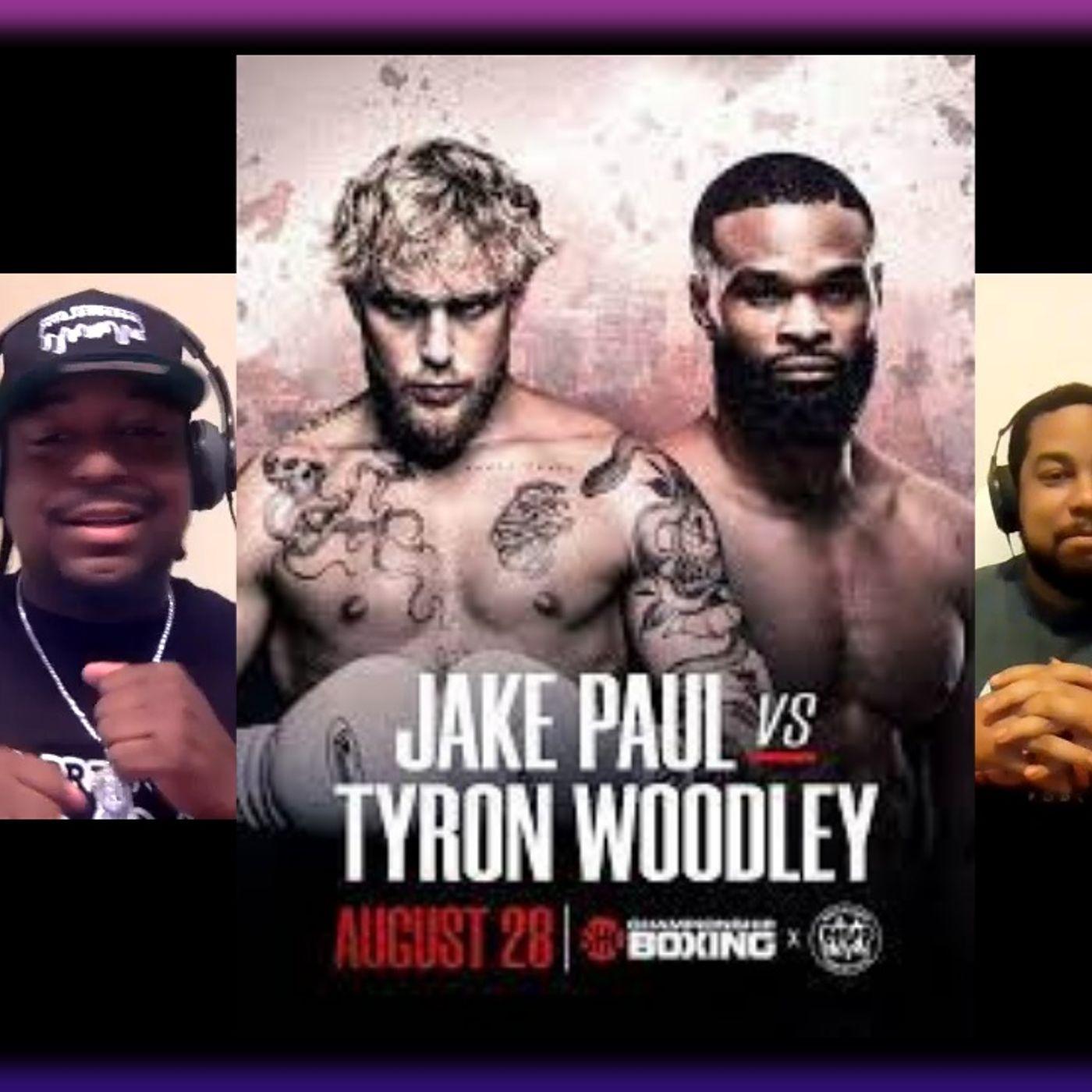 Jake Paul Vs Tyron Woodly / Evander Kane Scandal