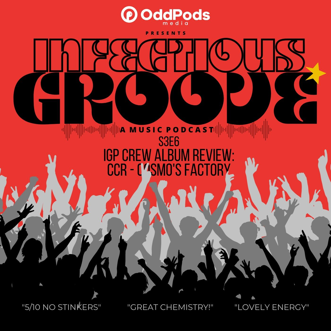 IGP Crew Album Review: CCR - Cosmo's Factory
