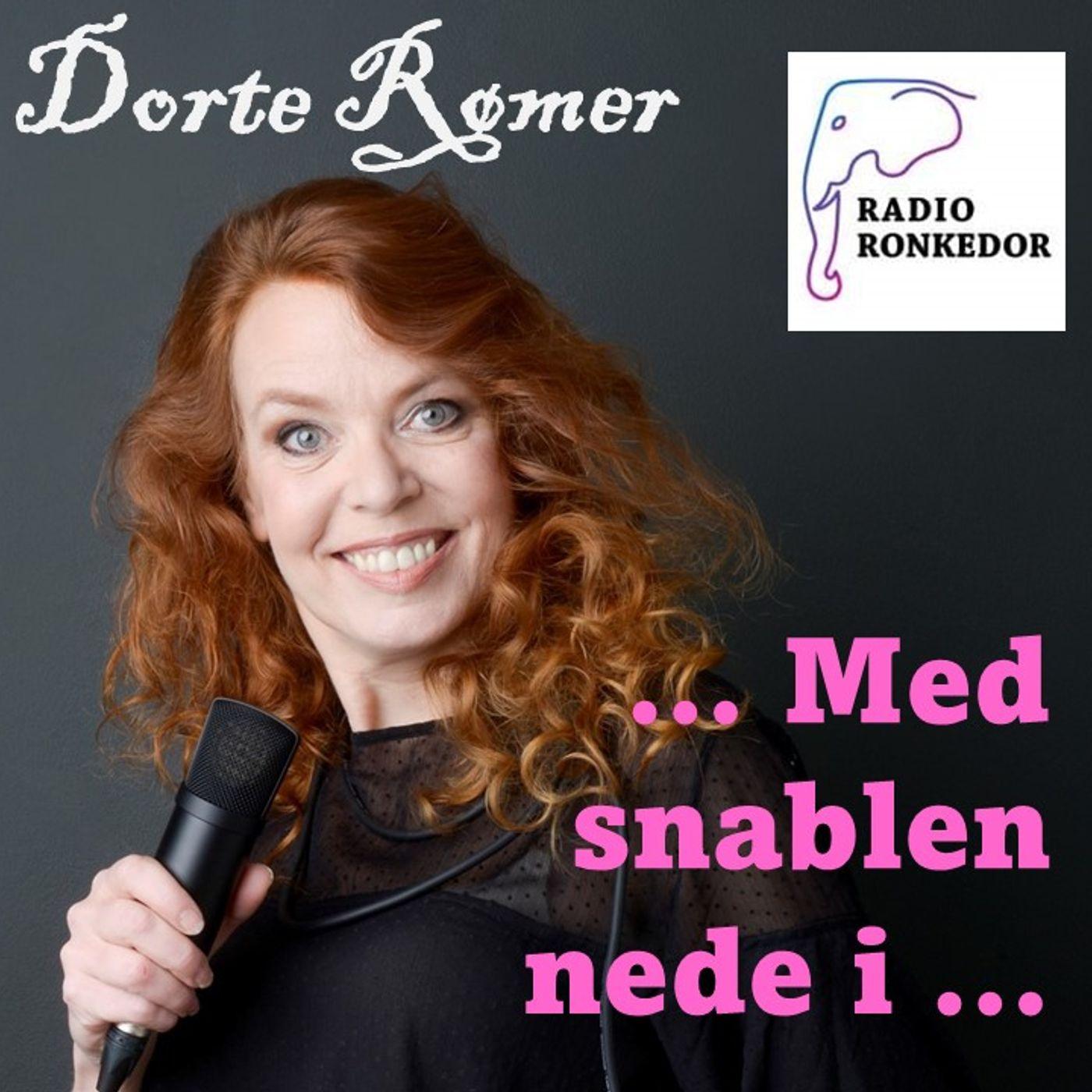 Dorte Rømer med snablen nede i ... (epis 2) forfatteren Lasse Løager