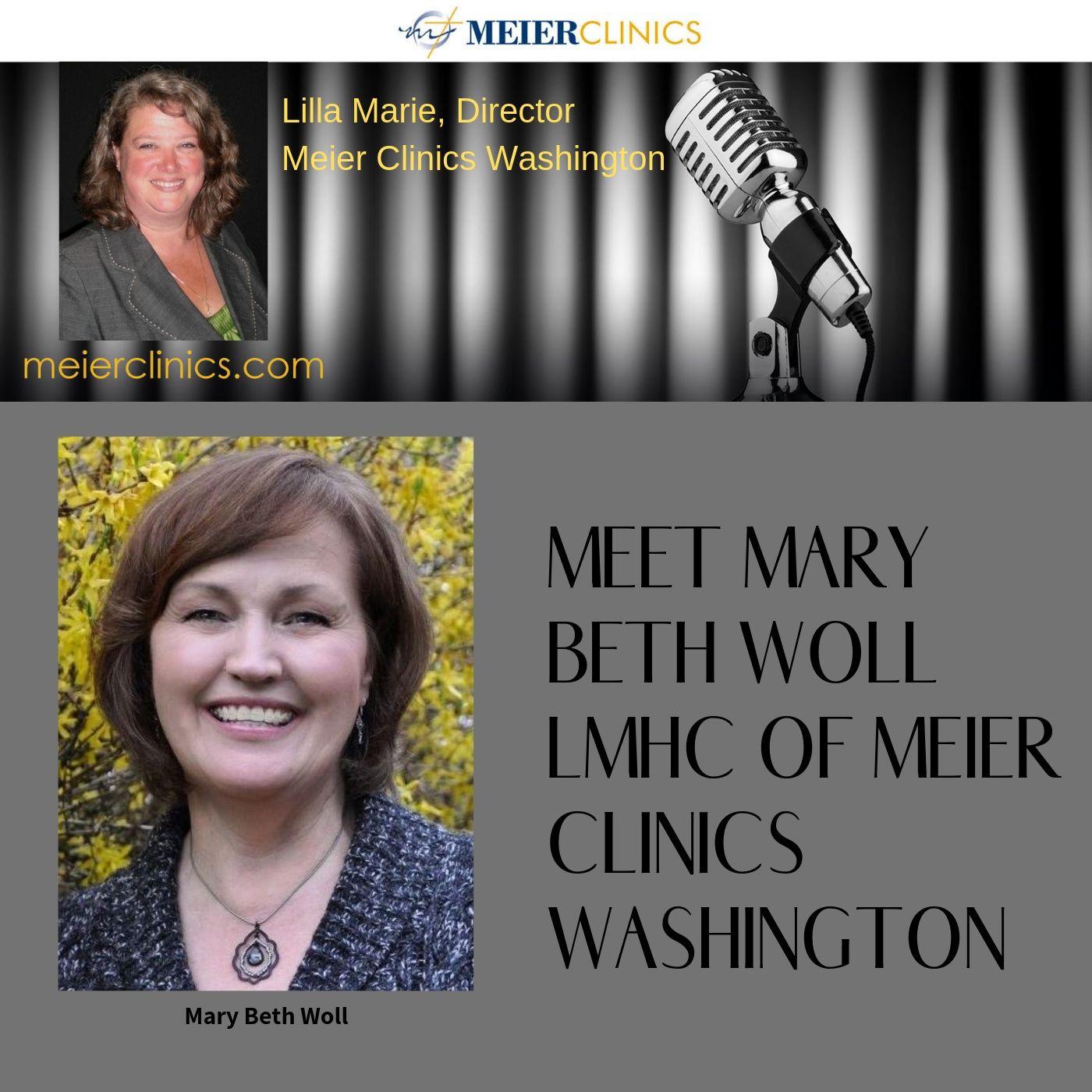 Meet Mary Beth Woll LMHC Of Meier Clinics Washington