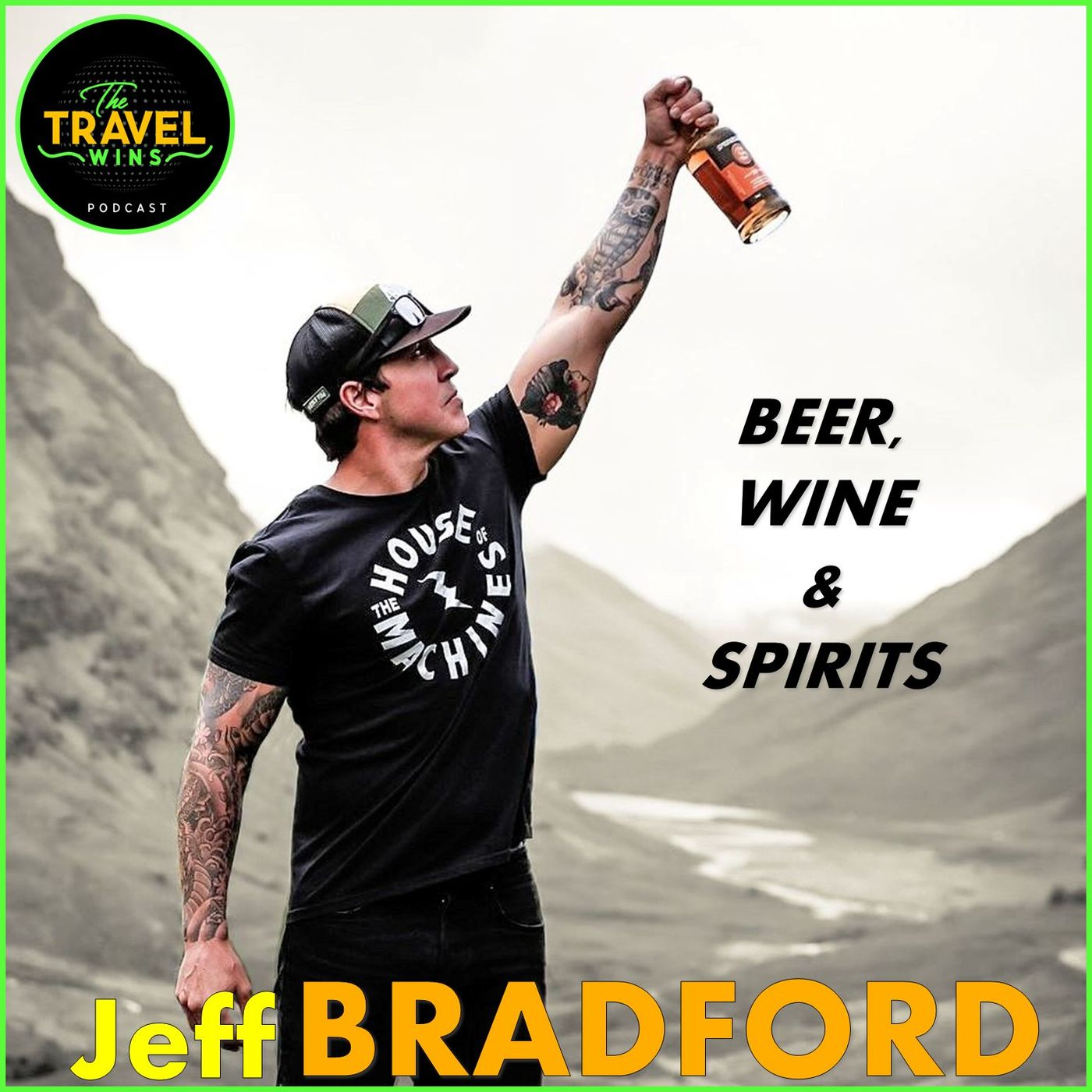 Jeff Bradford | Travel the World for a Drink