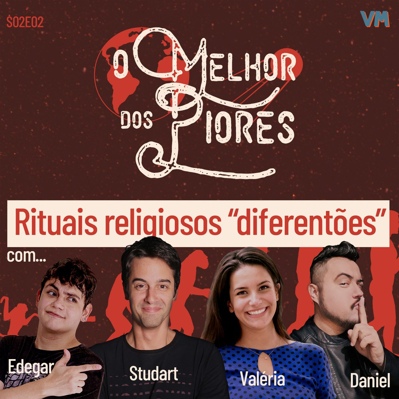 """S02E02 - Rituais religiosos """"diferentões"""""""