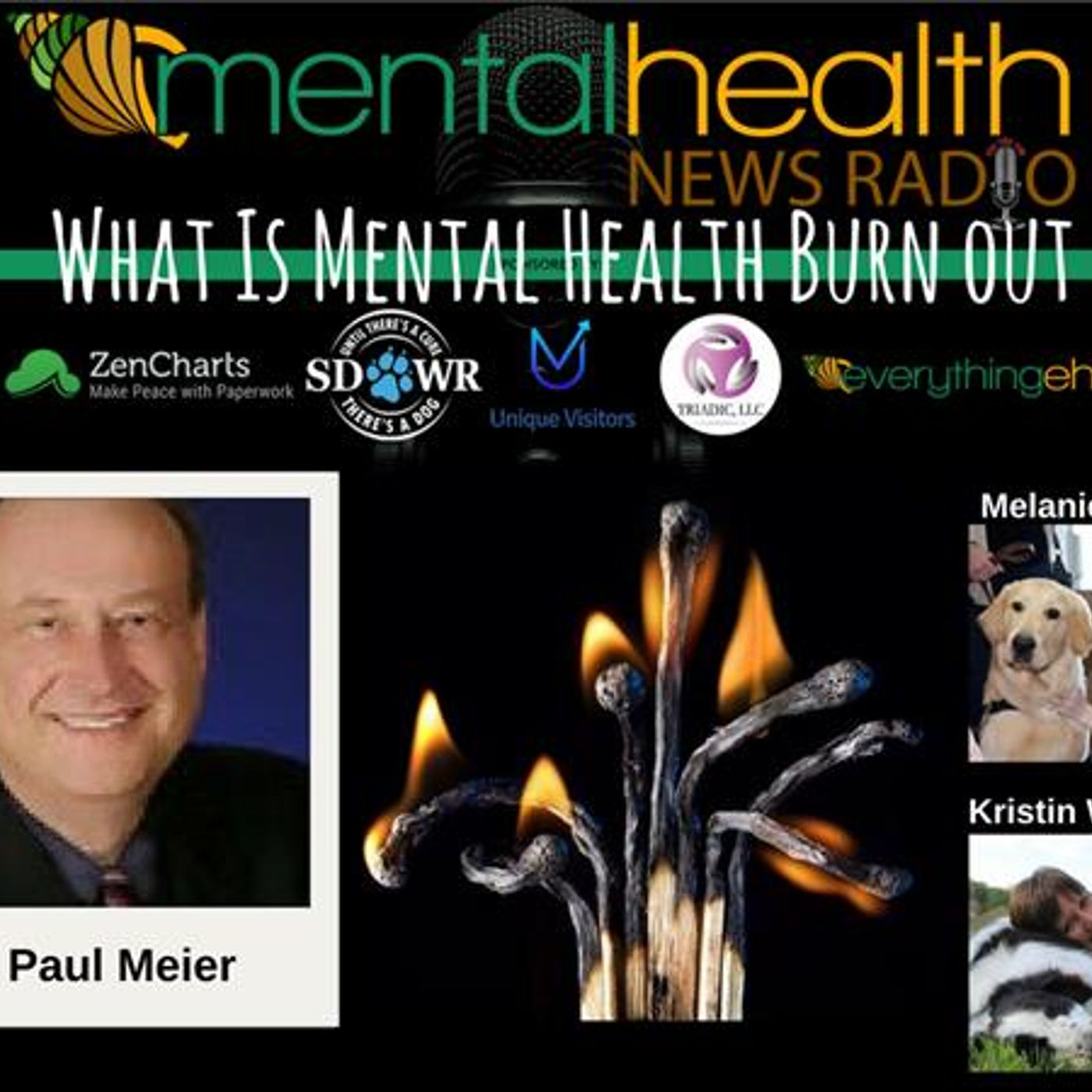 Mental Health News Radio - Round Table Discussions with Dr. Paul Meier: Surviving Burnout
