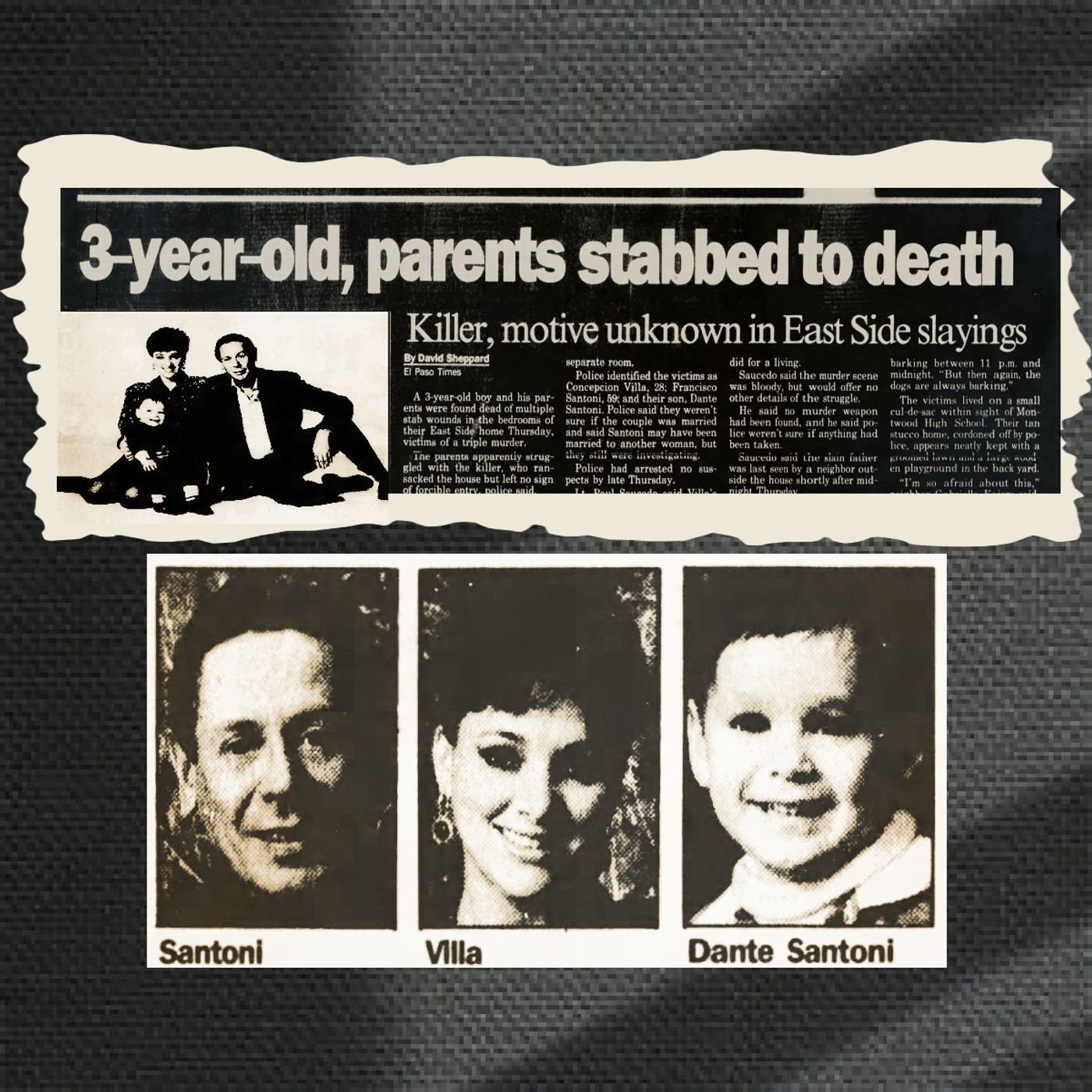 Death of a Family: The Slayings of Frank, Connie, & Dante