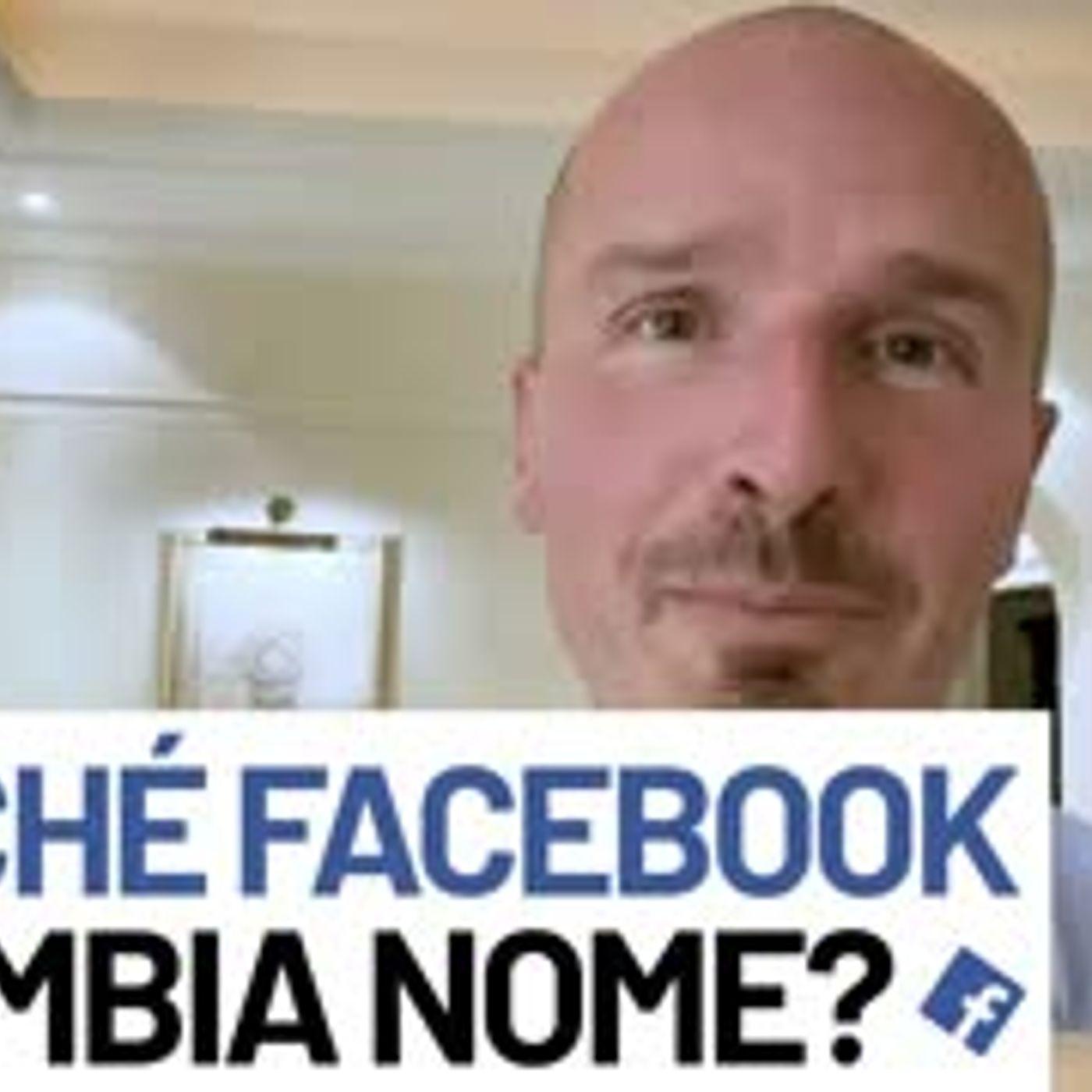 Perché Facebook cambia nome?