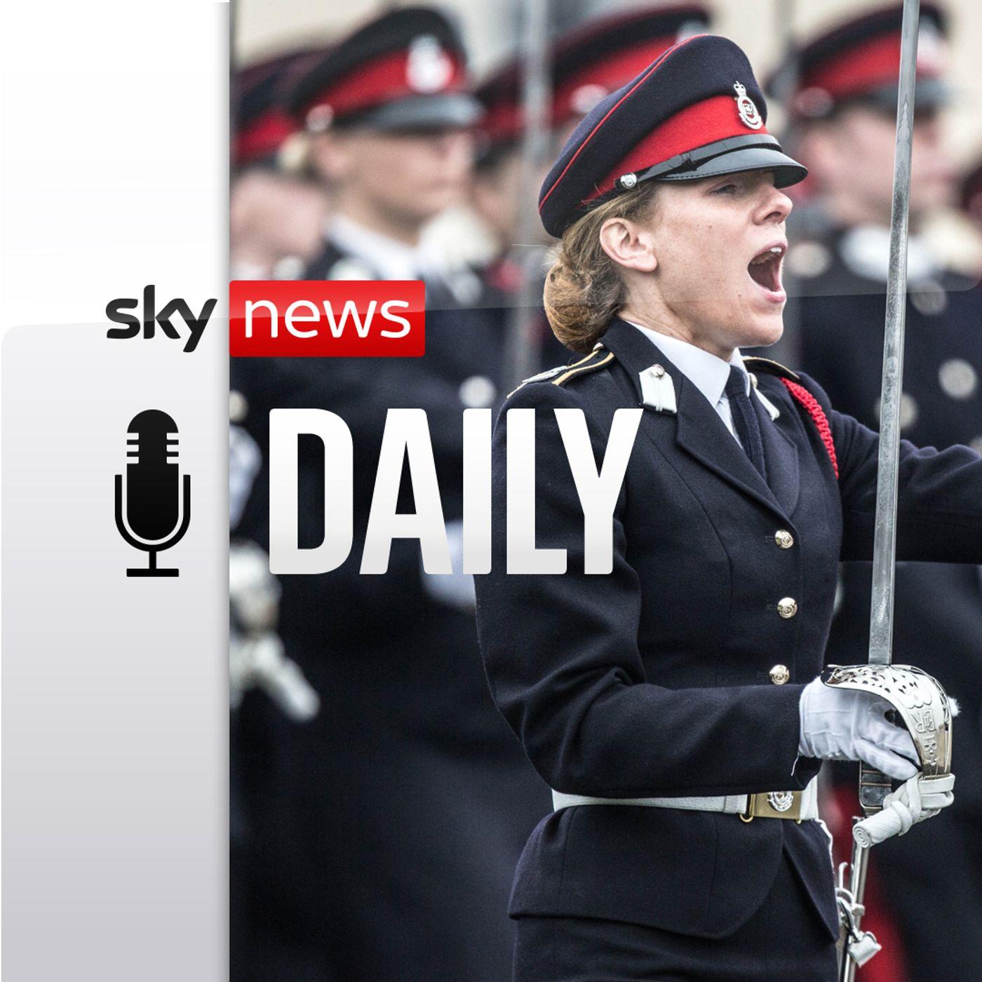 Women in uniform – but is it still a man's world?