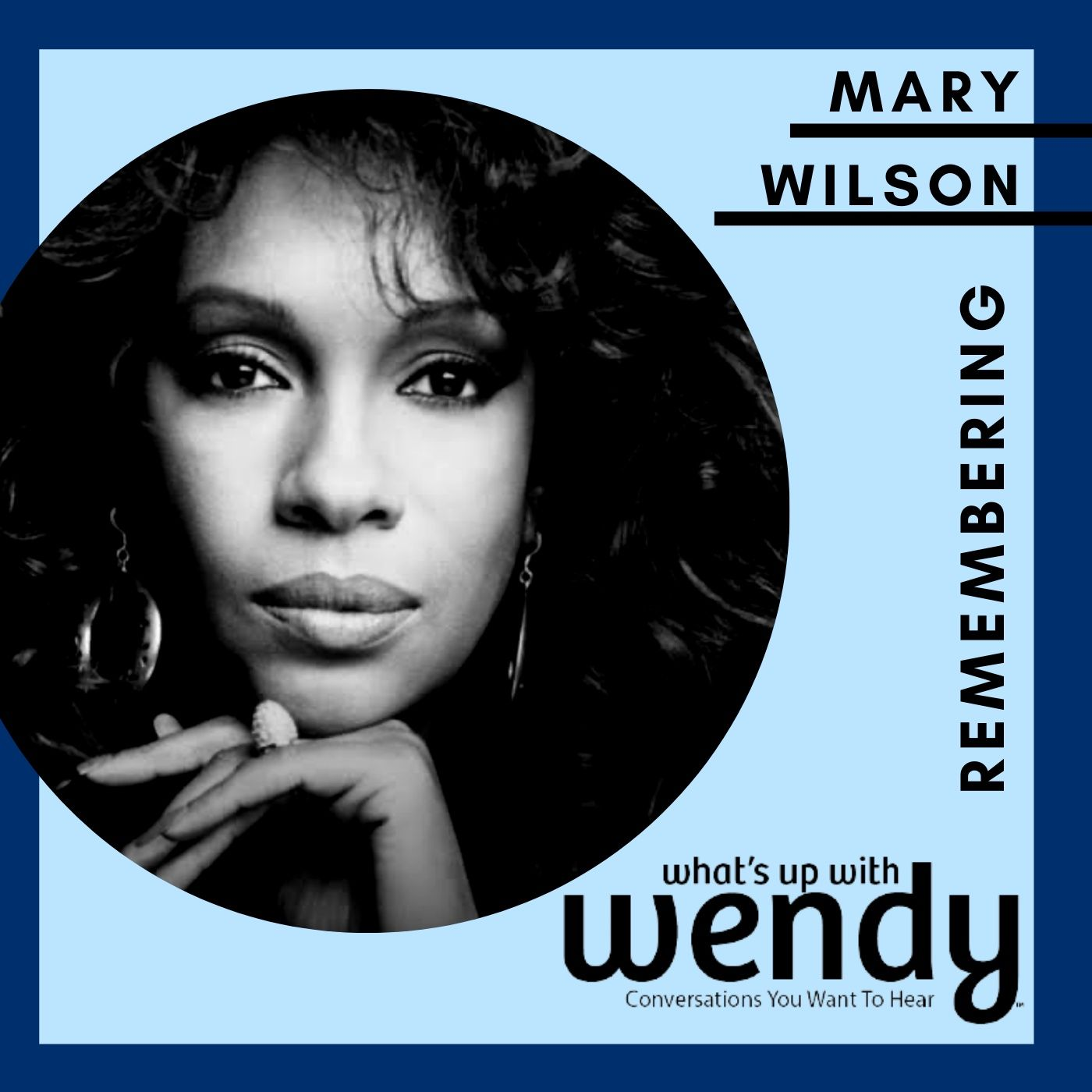 """Mary Wilson, founding member of The Supremes ... from my """"Best of Series"""""""